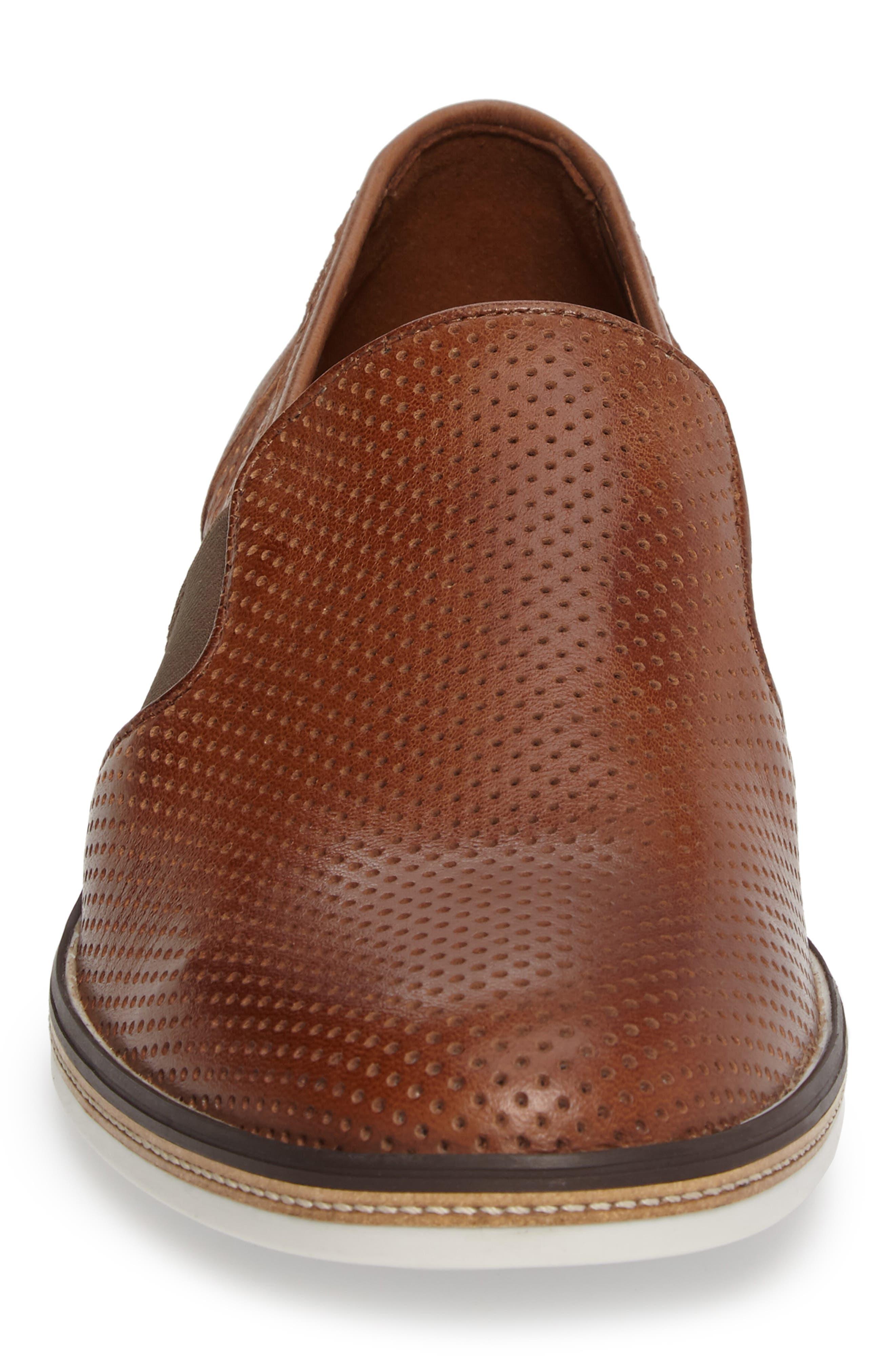 Alternate Image 4  - Lloyd Alister Perforated Loafer (Men)
