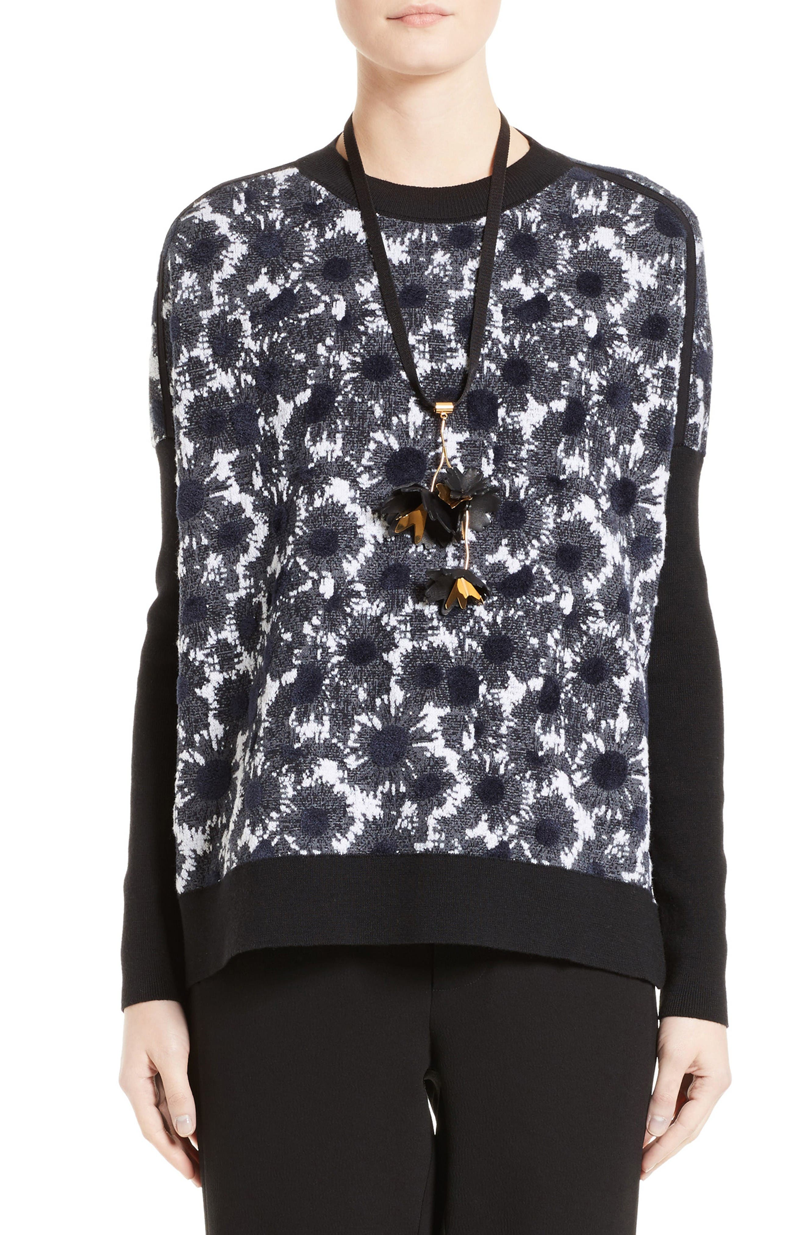 Alternate Image 1 Selected - Marni Wool Blend Sweater