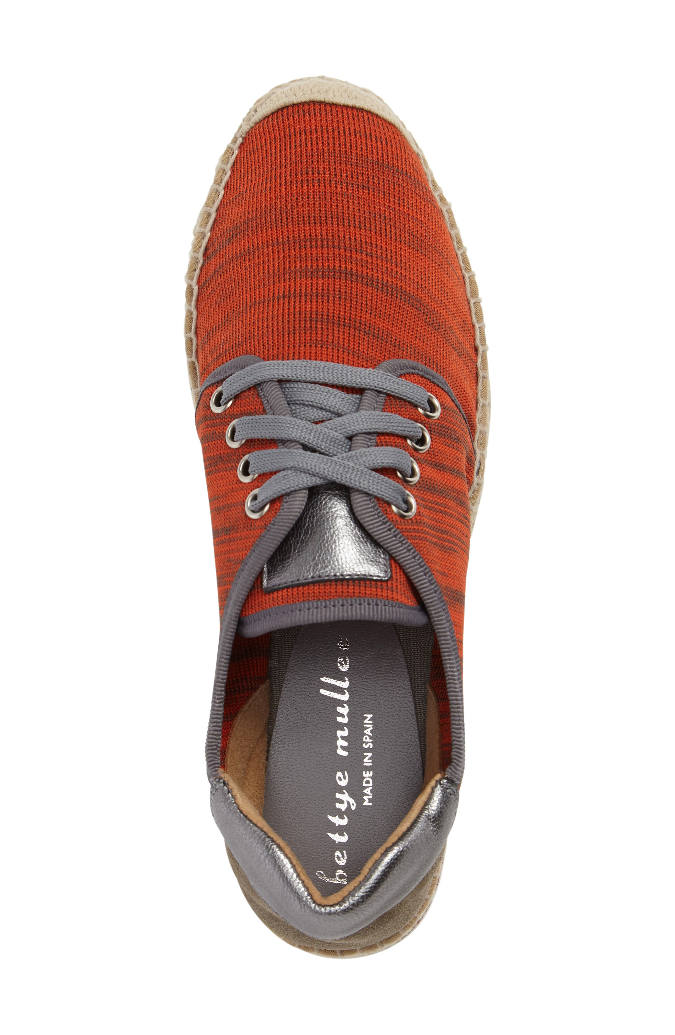 Alternate Image 5  - Bettye Muller Newport Mesh Espadrille Sneaker (Women)