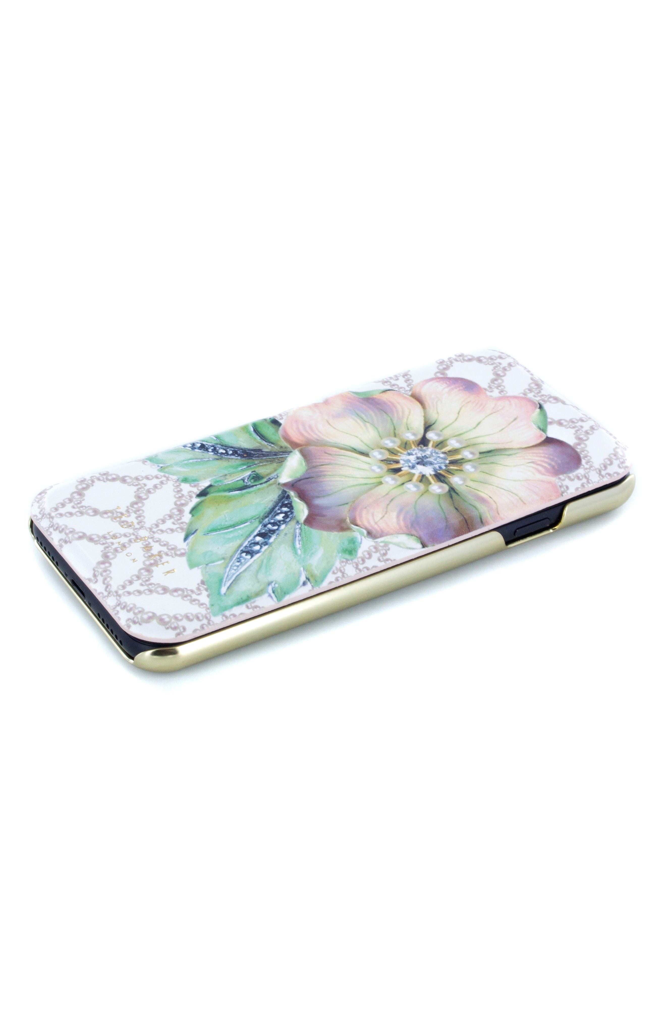 Mavis iPhone 6/6s/7/8 Plus Mirror Folio Case,                             Alternate thumbnail 3, color,                             Multi