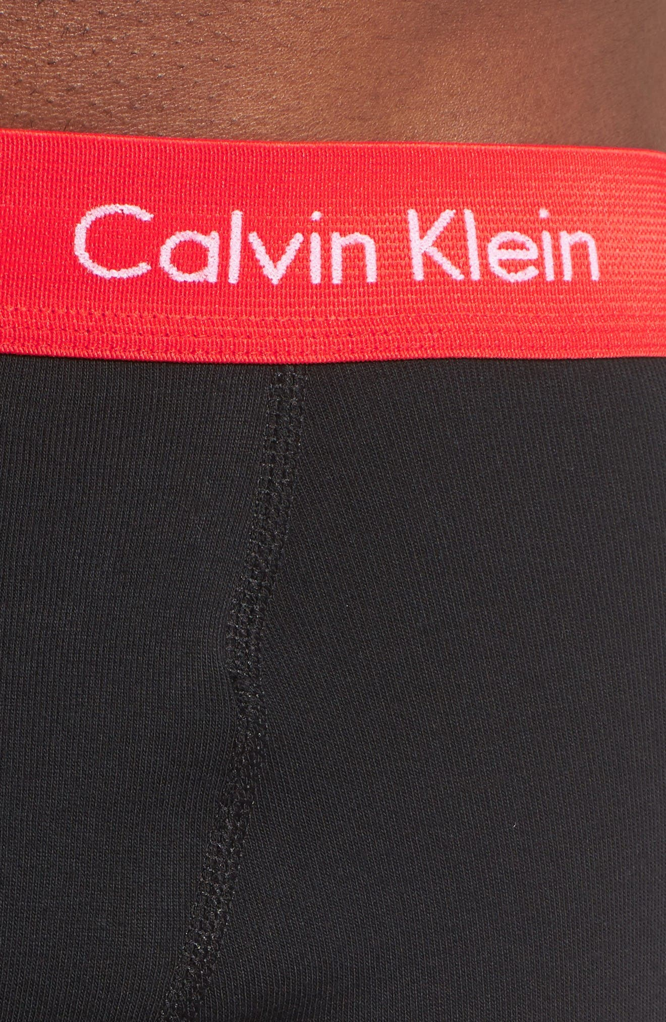 Alternate Image 5  - Calvin Klein 3-Pack Boxer Briefs