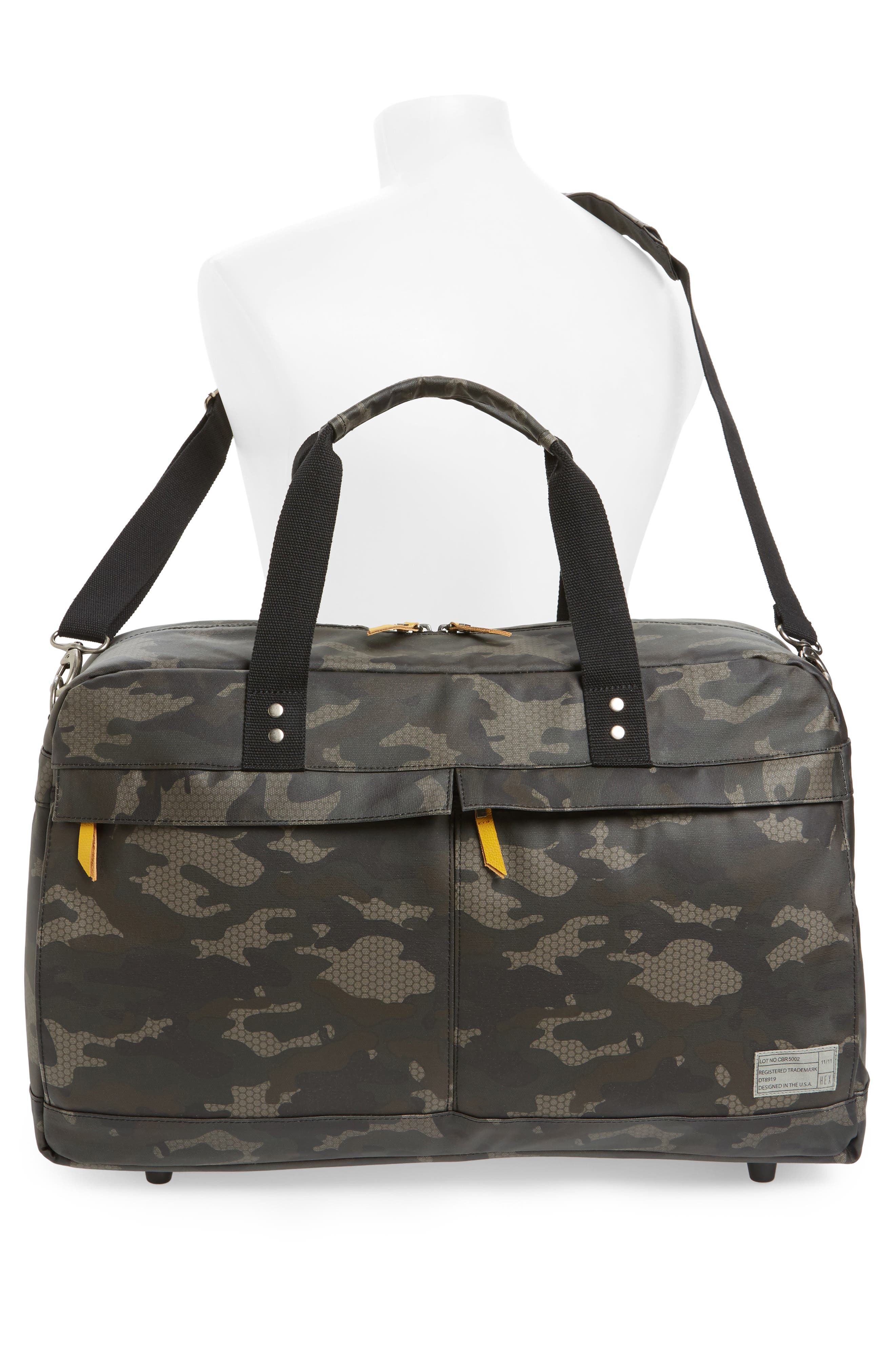 Calibre Duffel Bag,                             Alternate thumbnail 2, color,                             Camo