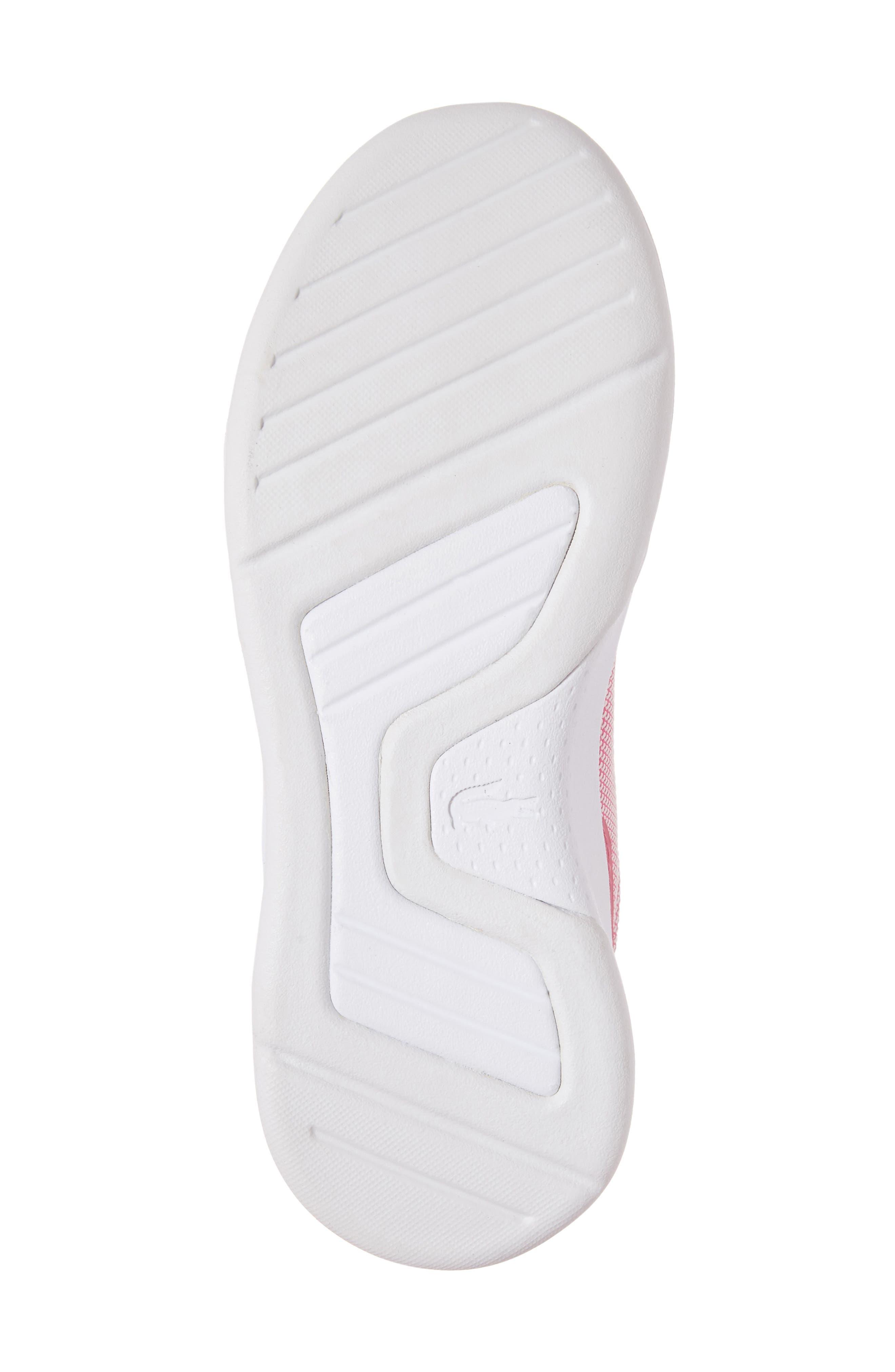 LT Spirit Woven Sneaker,                             Alternate thumbnail 6, color,                             Pink/ White
