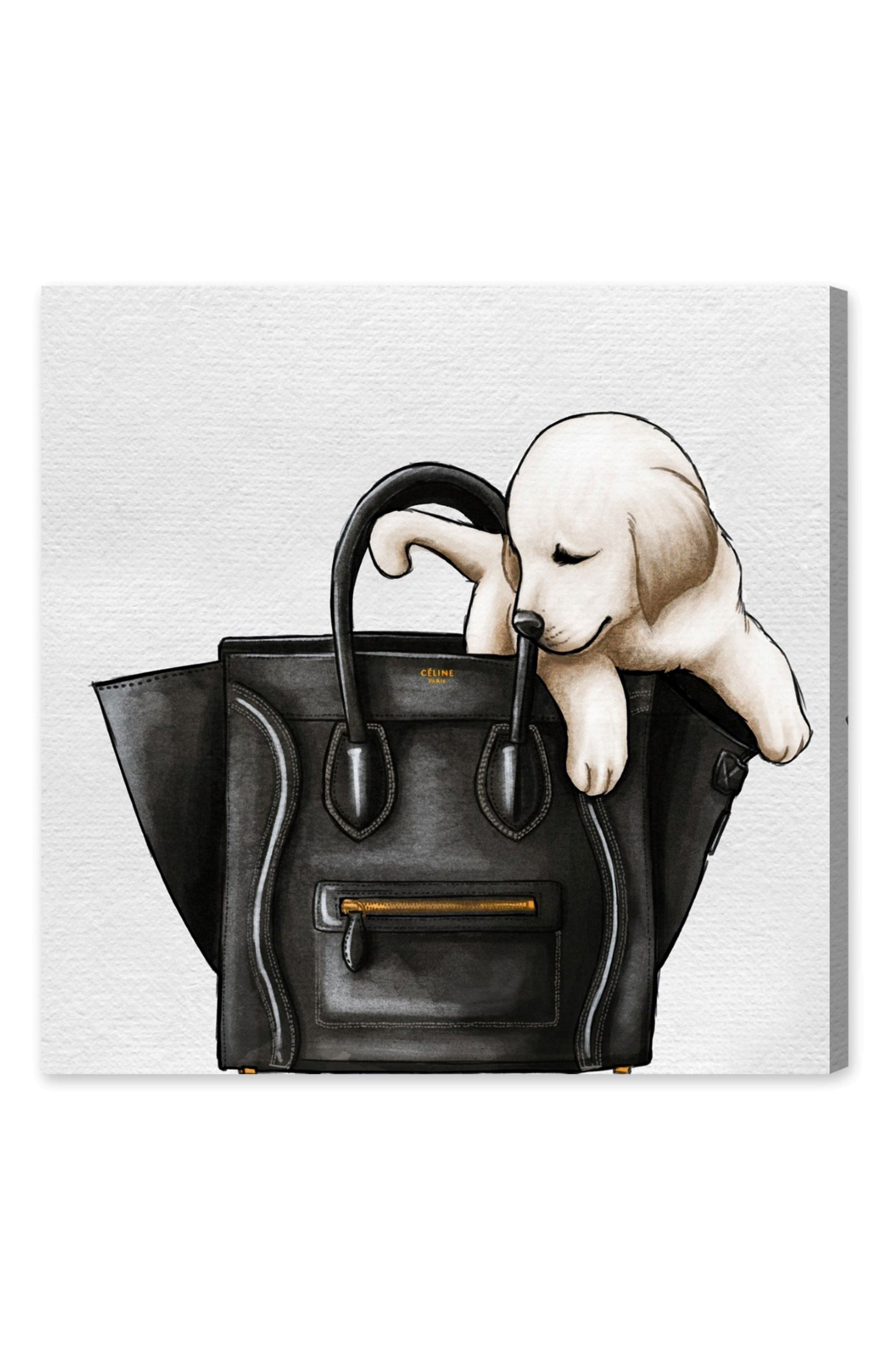 Main Image - Oliver Gal Sweetest Accessory Canvas Wall Art