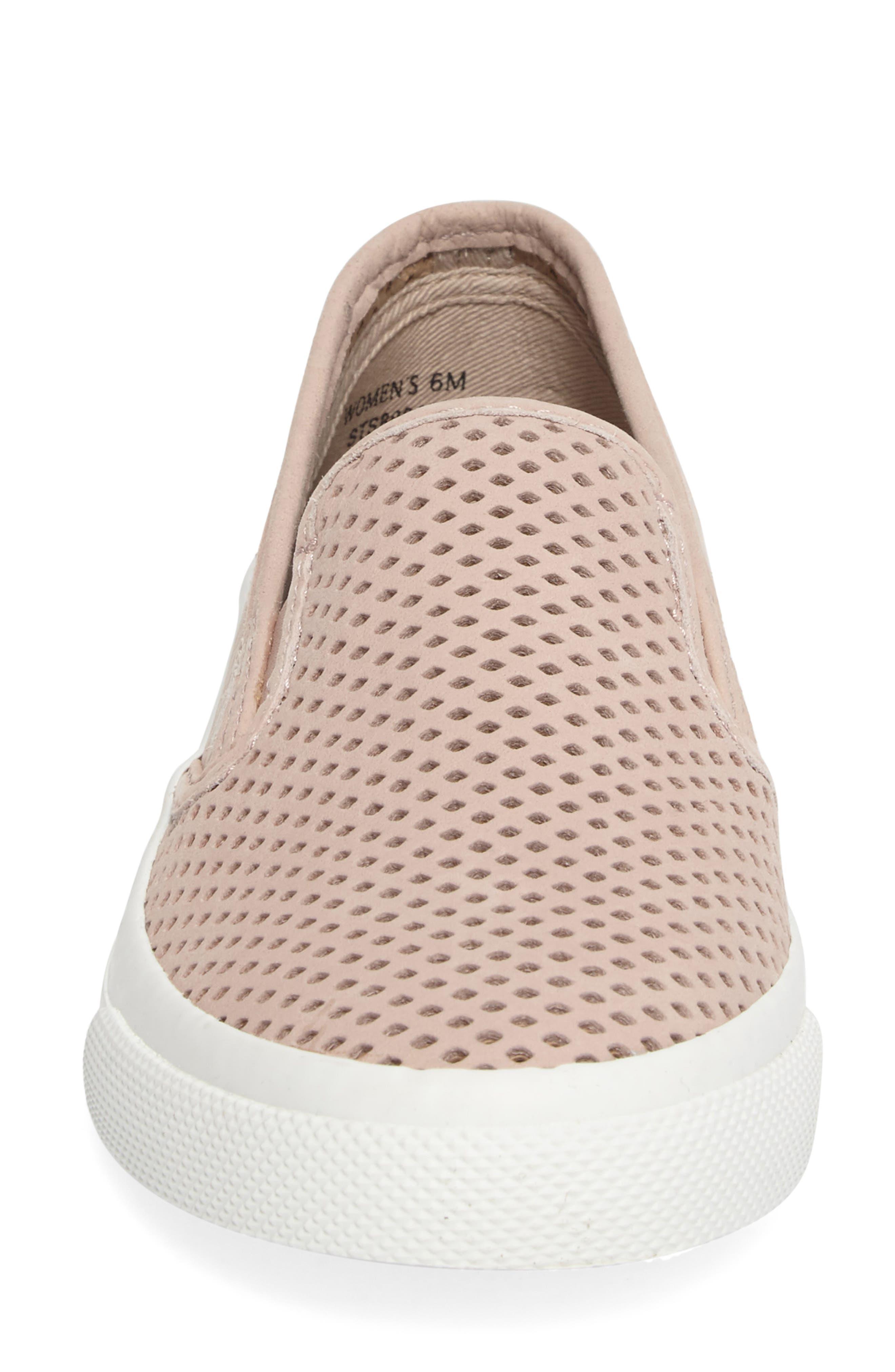 Alternate Image 4  - Sperry 'Seaside' Perforated Slip-On Sneaker (Women)