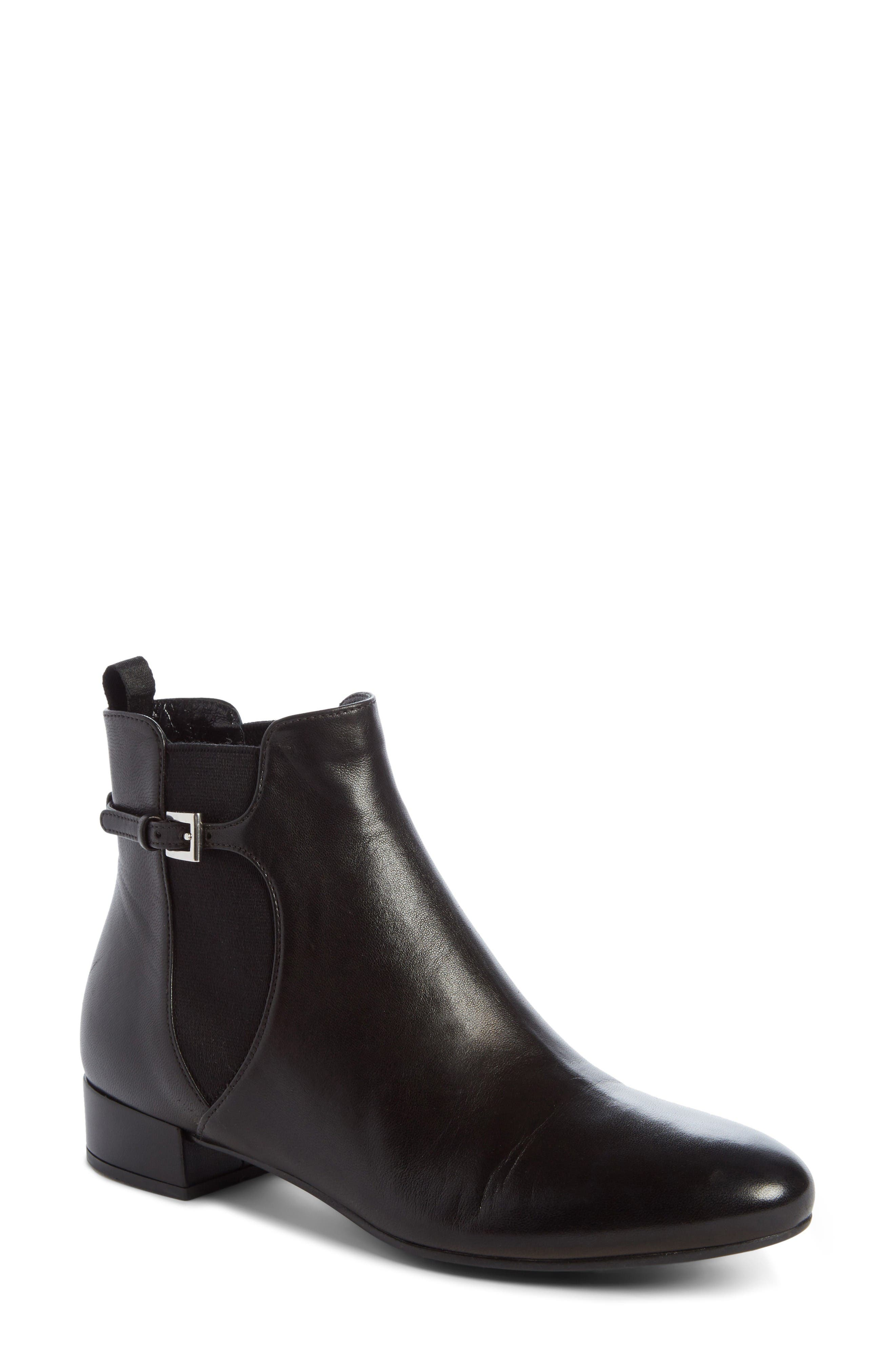 Prada Buckle Chelsea Boot (Women)