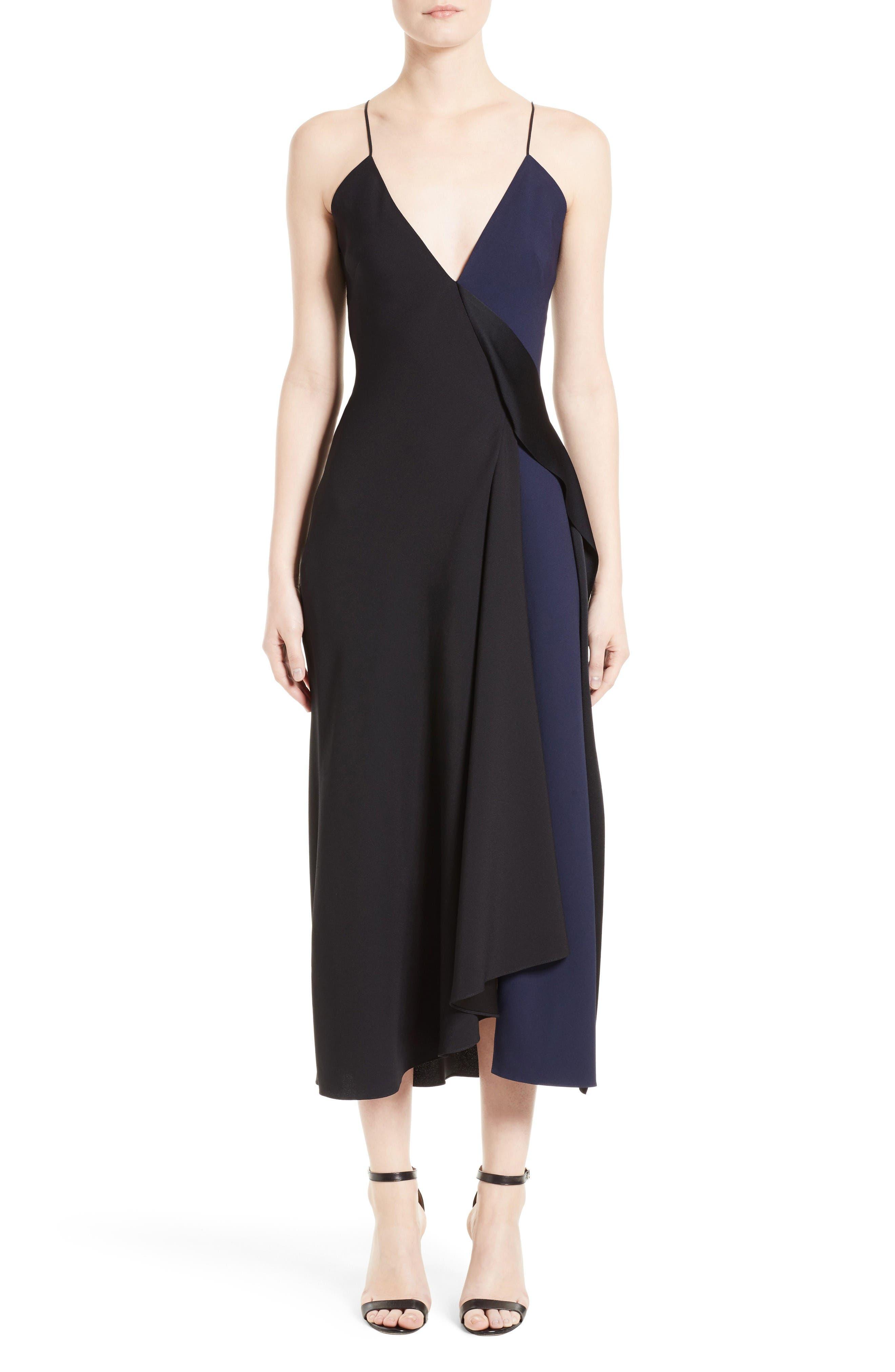 Alternate Image 1 Selected - Victoria Beckham Asymmetrical Camisole Dress