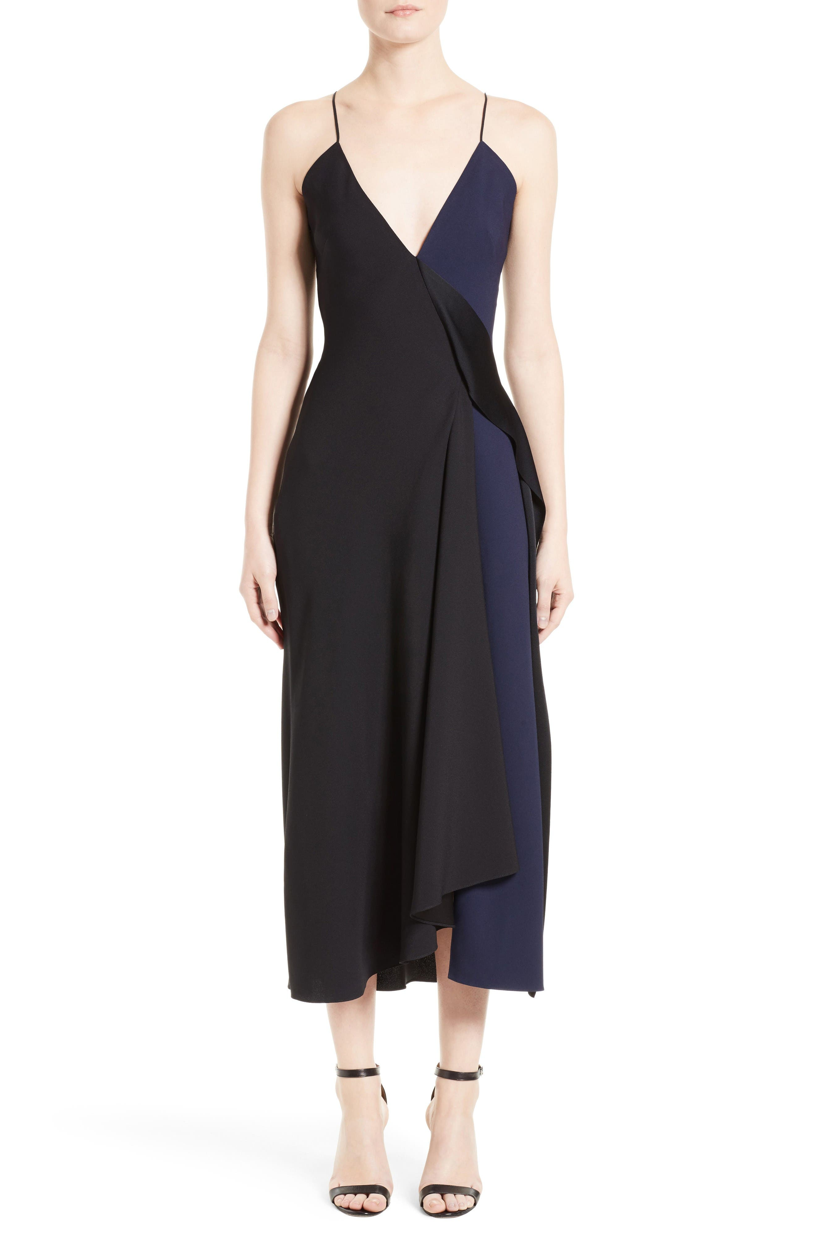 Victoria Beckham Asymmetrical Camisole Dress