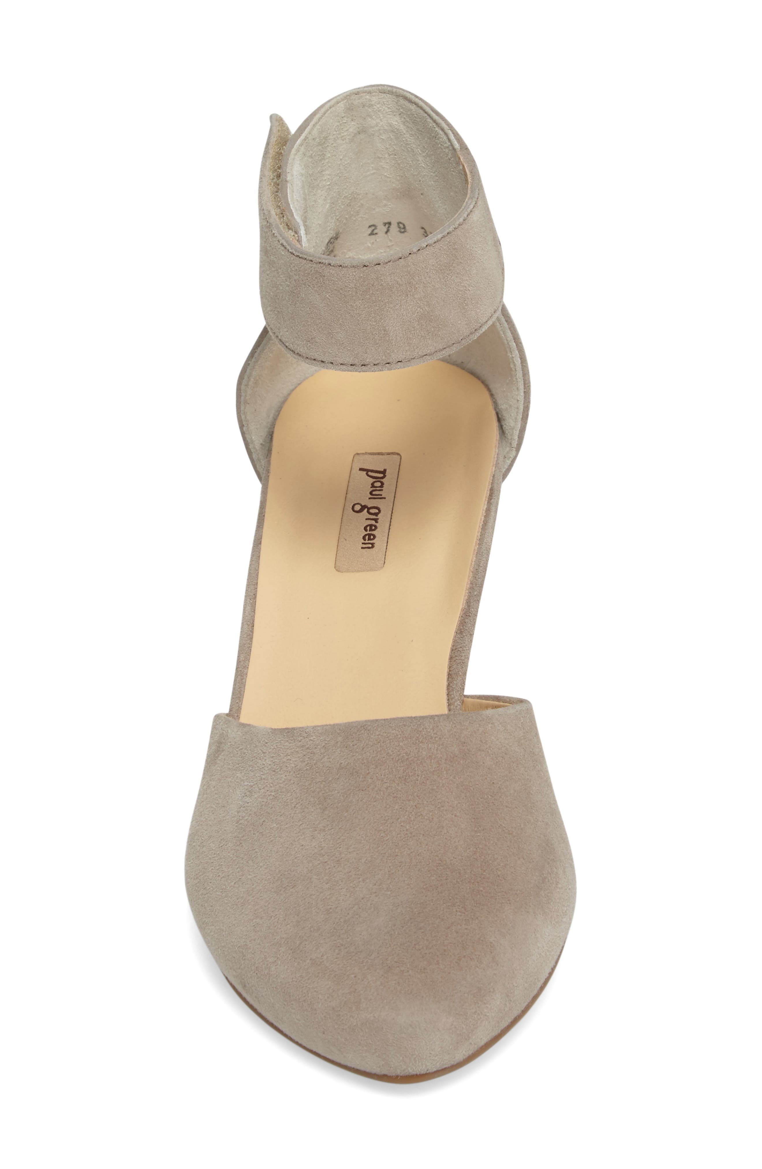 Noreen Pump,                             Alternate thumbnail 4, color,                             Taupe Suede