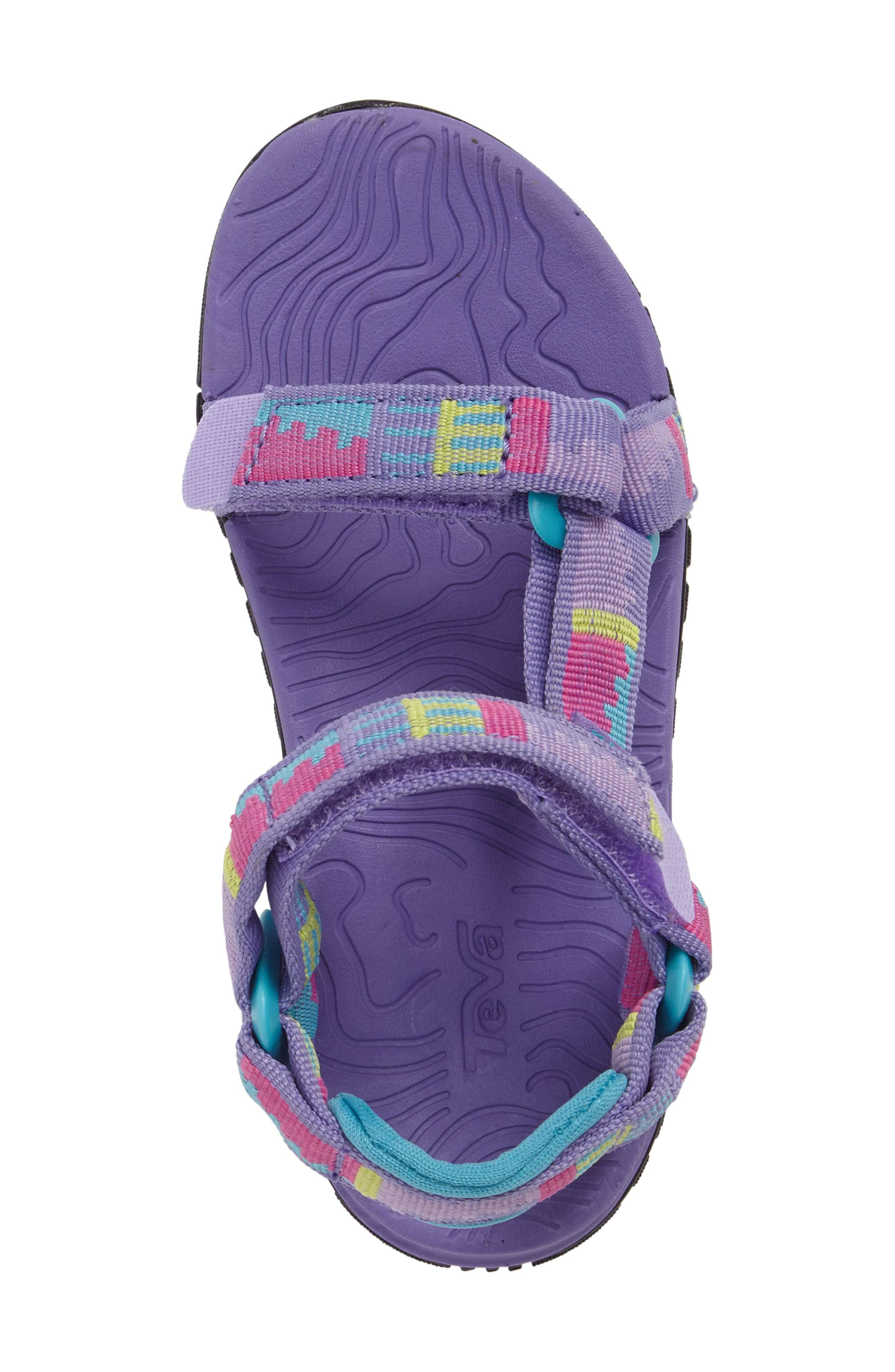 'Hurricane 3' Sport Sandal,                             Alternate thumbnail 5, color,                             Purple