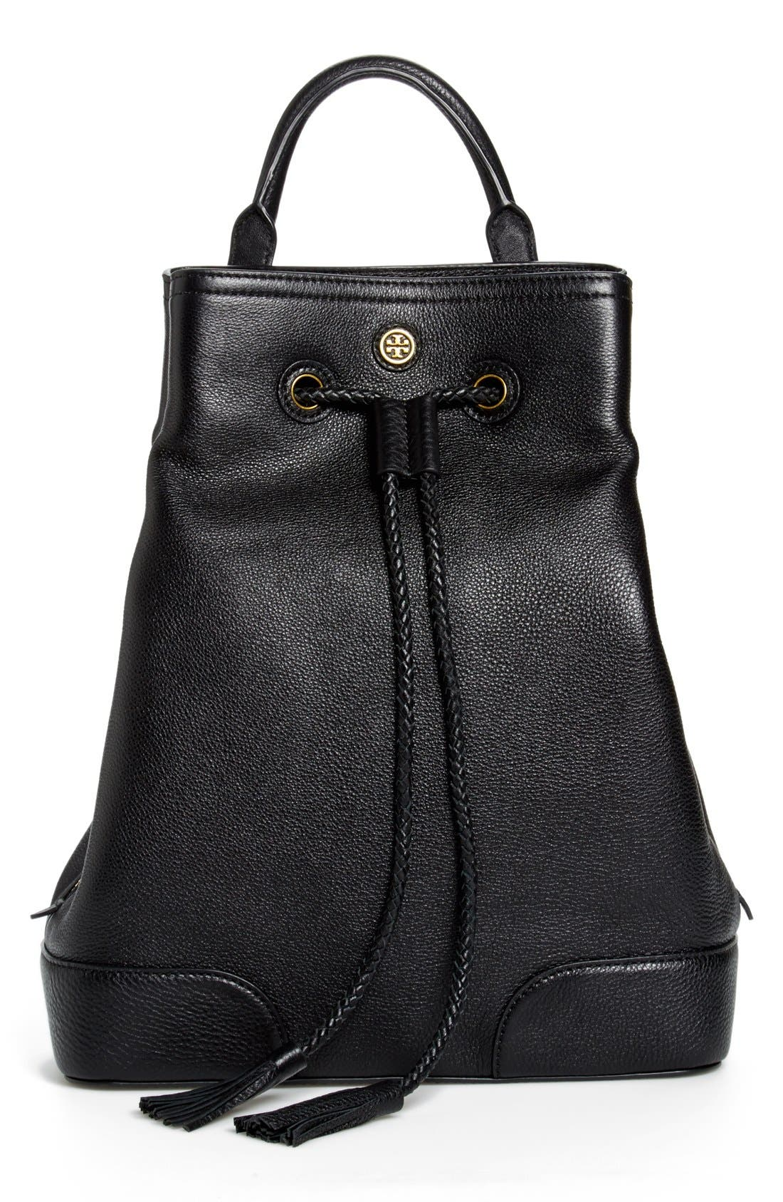 Main Image - Tory Burch 'Frances' Leather Backpack