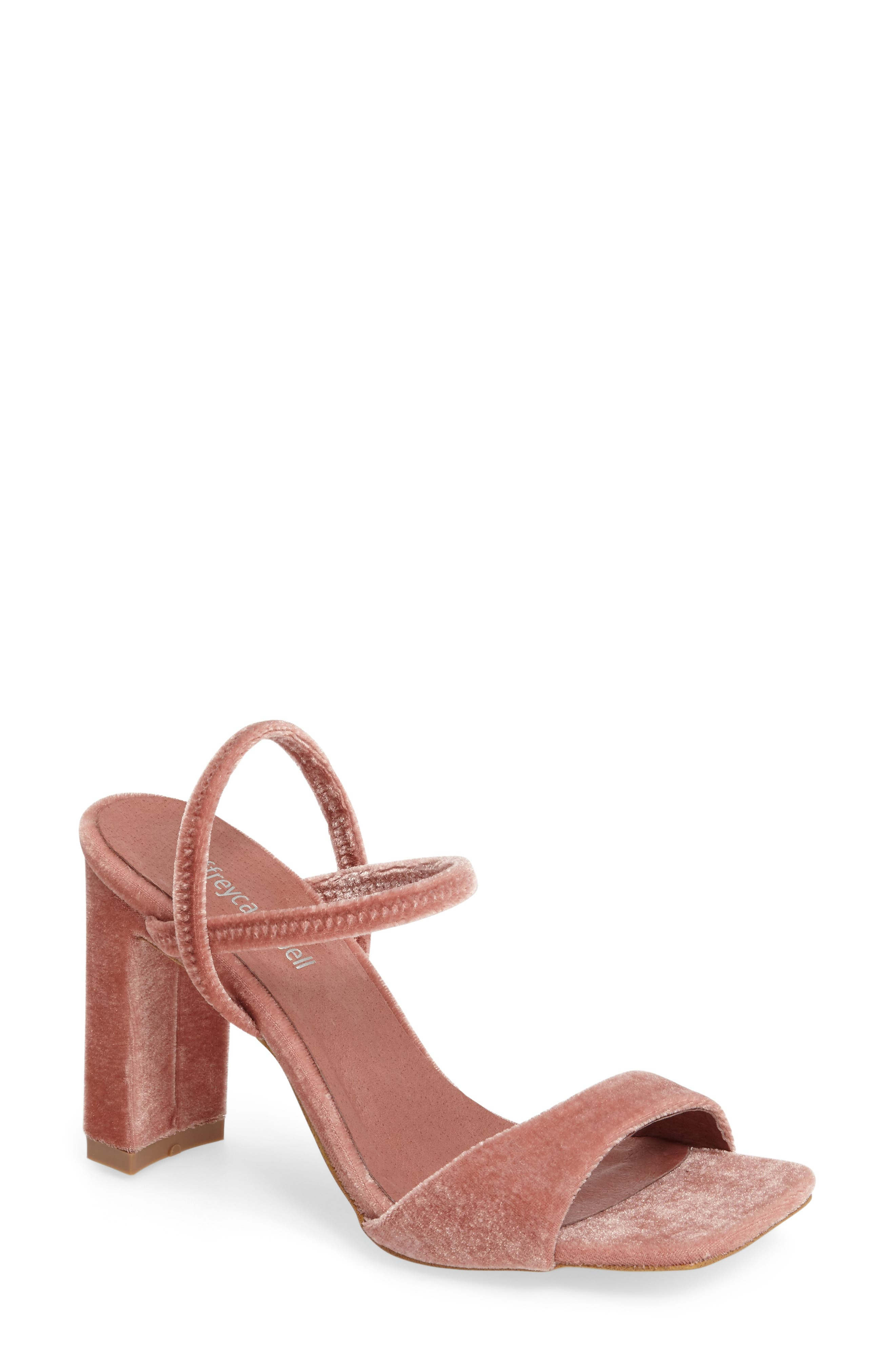 Alternate Image 1 Selected - Jeffrey Campbell Carine Square Toe Sandal (Women)