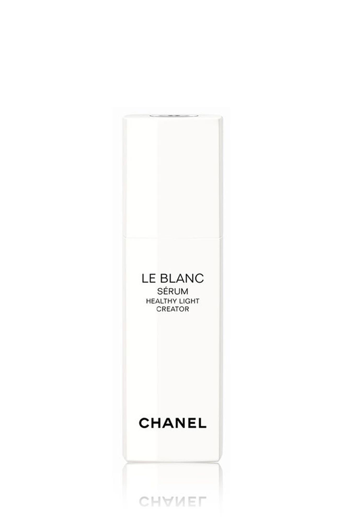 CHANEL LE BLANC SÉRUM  Healthy Light Creator