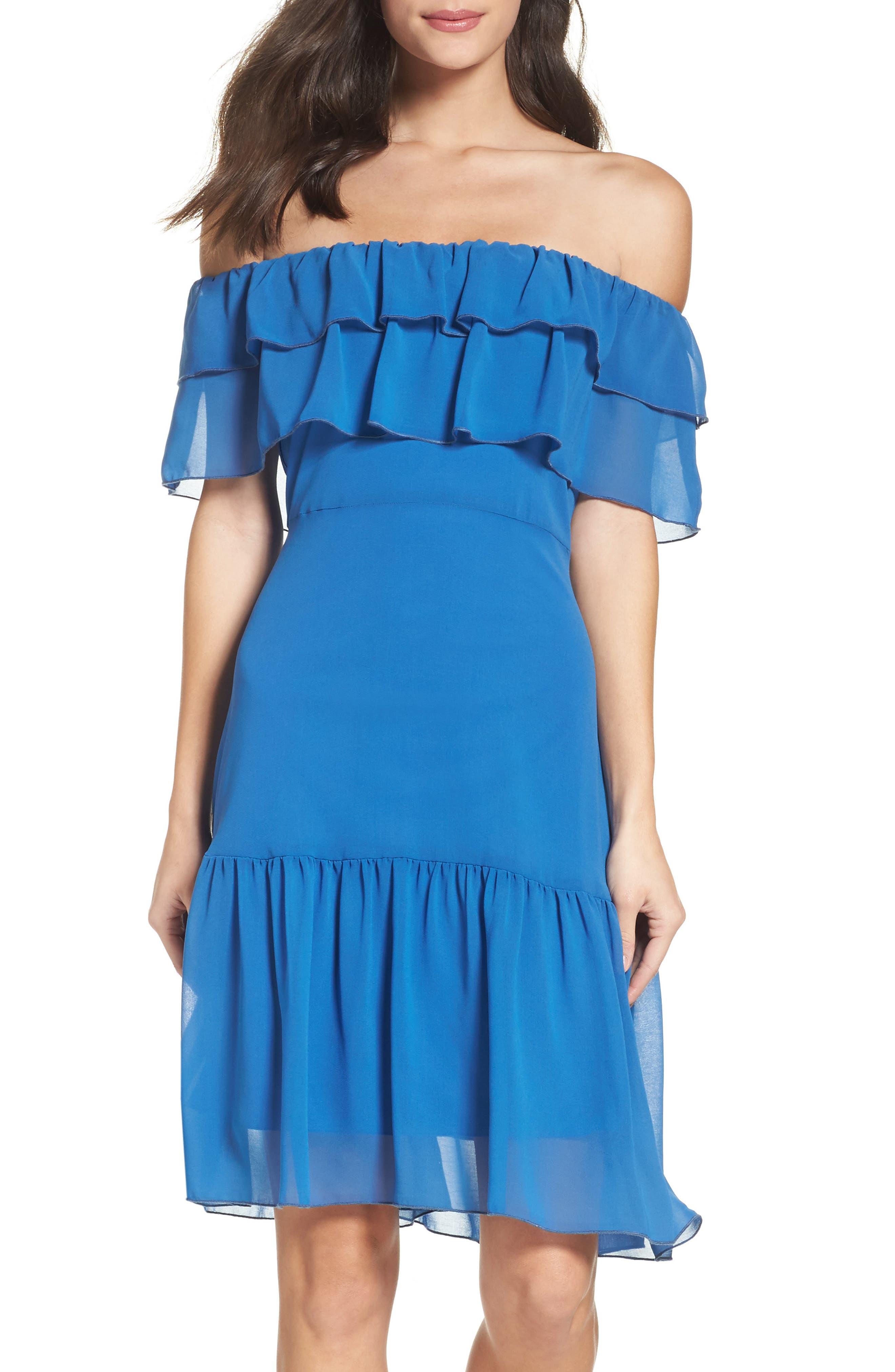 Alternate Image 1 Selected - NSR Ruffle Dress