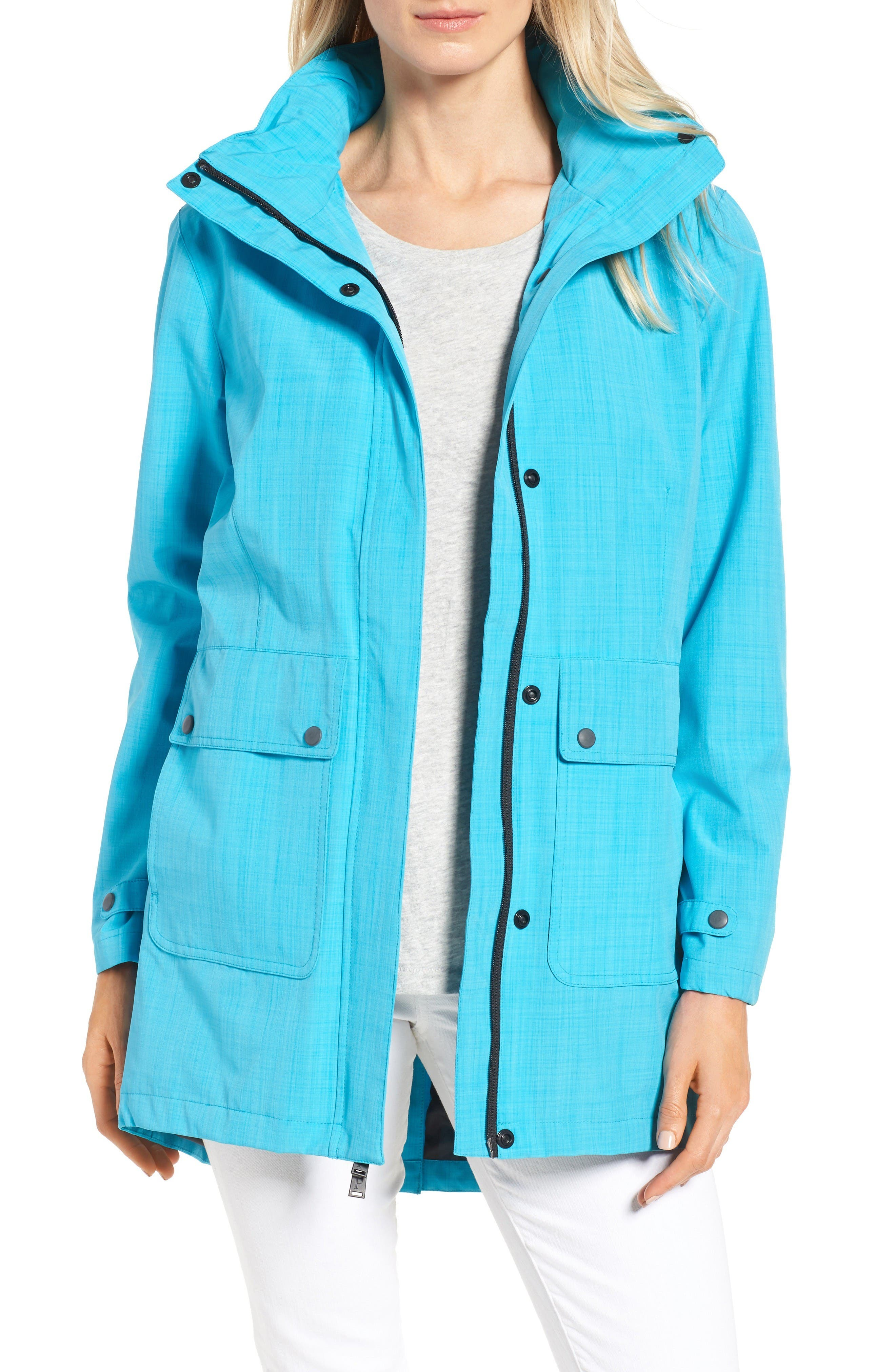 Golden Gate Anorak,                         Main,                         color, Turquoise