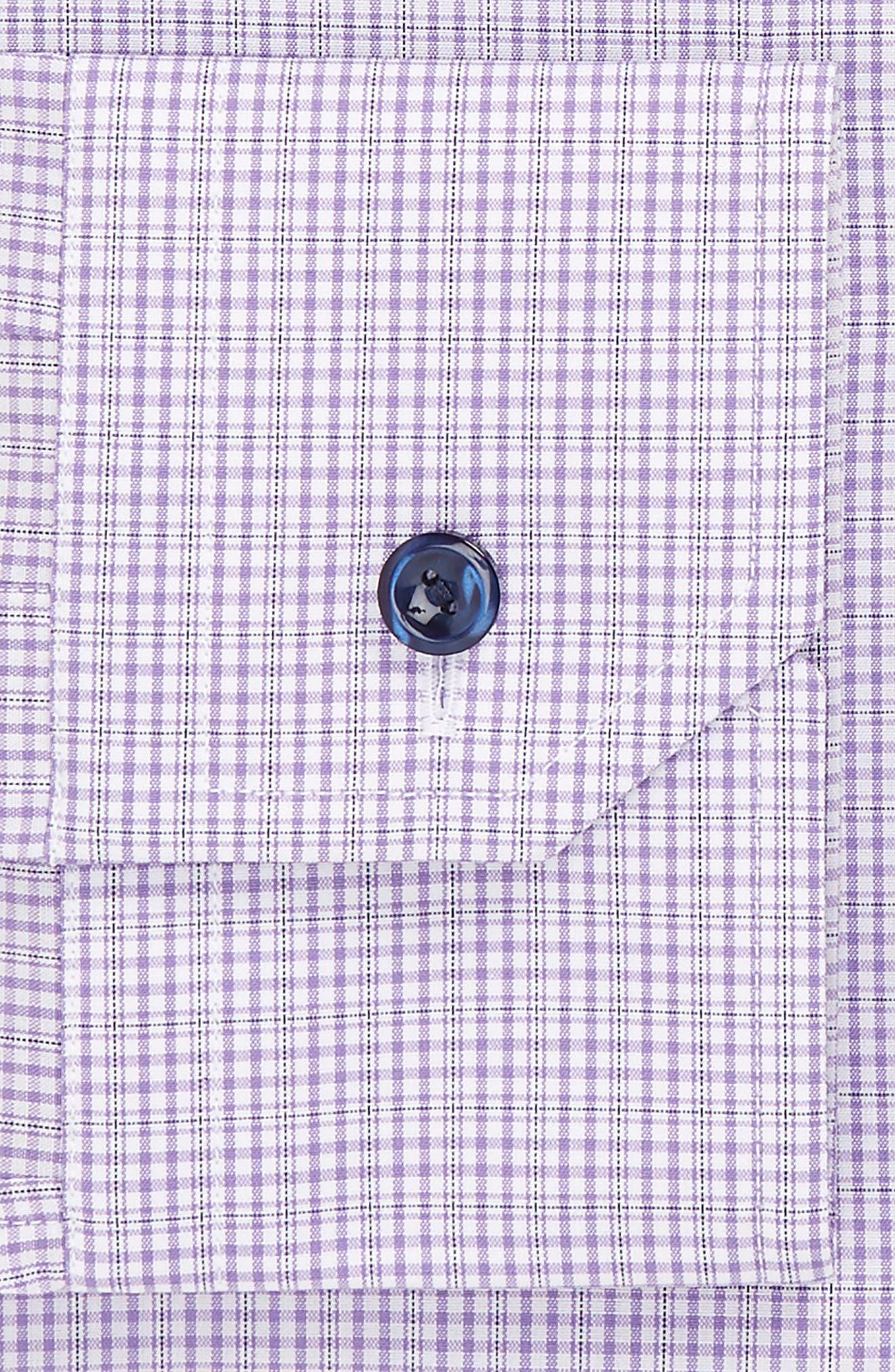 Alternate Image 2  - Eton Slim Fit Plaid Dress Shirt