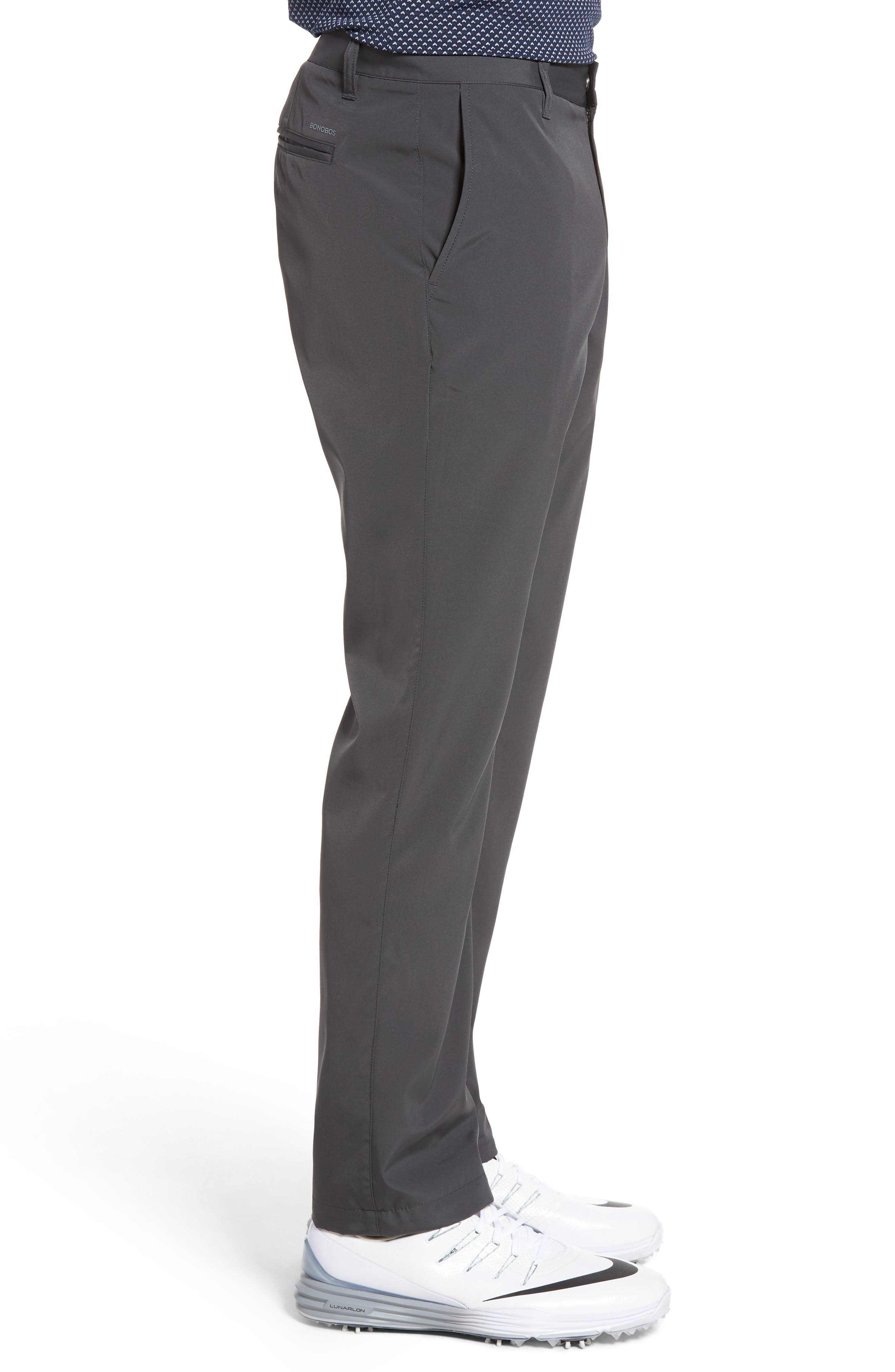 Lightweight Highland Slim Fit Golf Pants,                             Alternate thumbnail 3, color,                             Charcoal