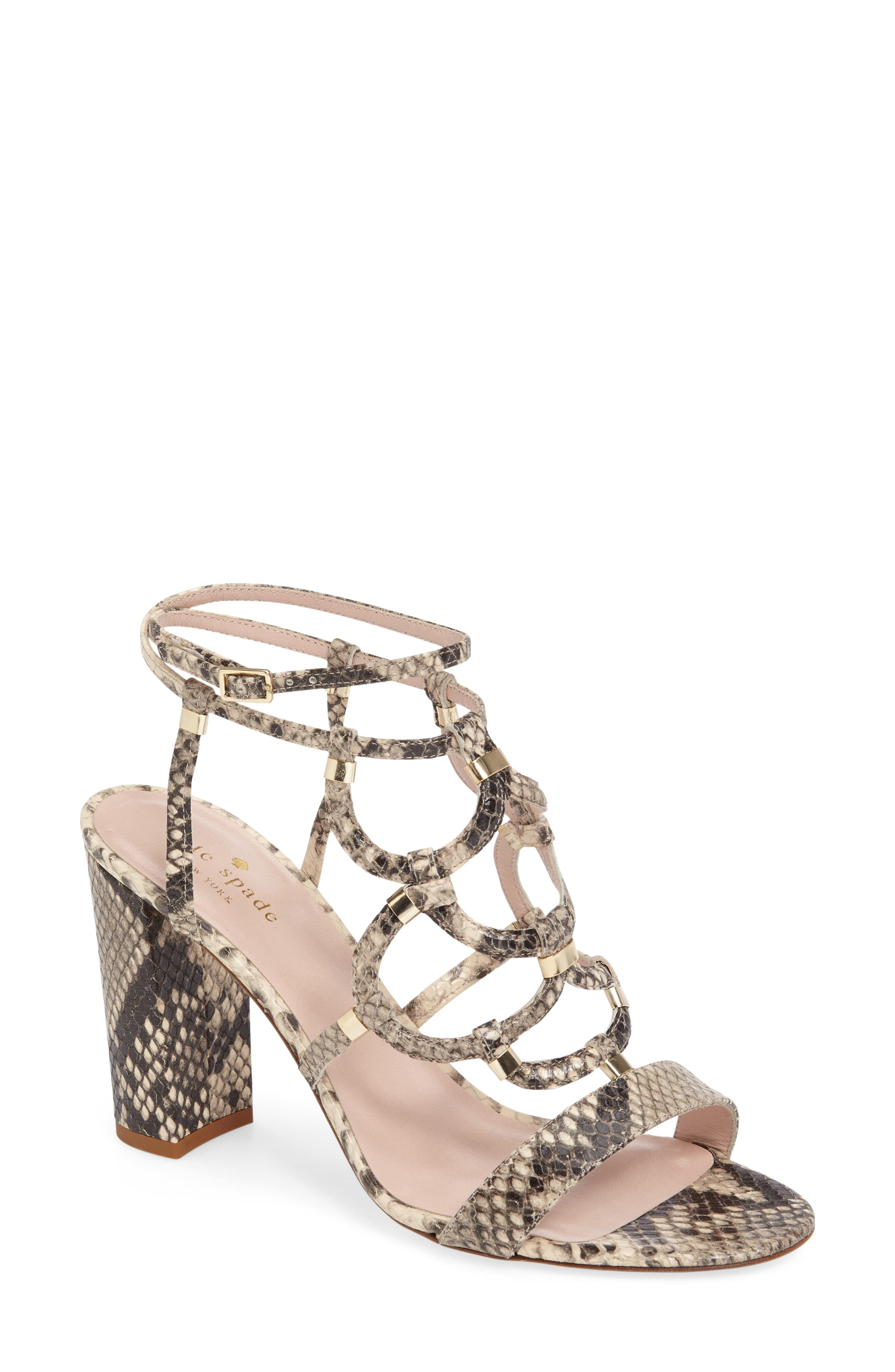 kate spade new york irving strappy sandal (Women)