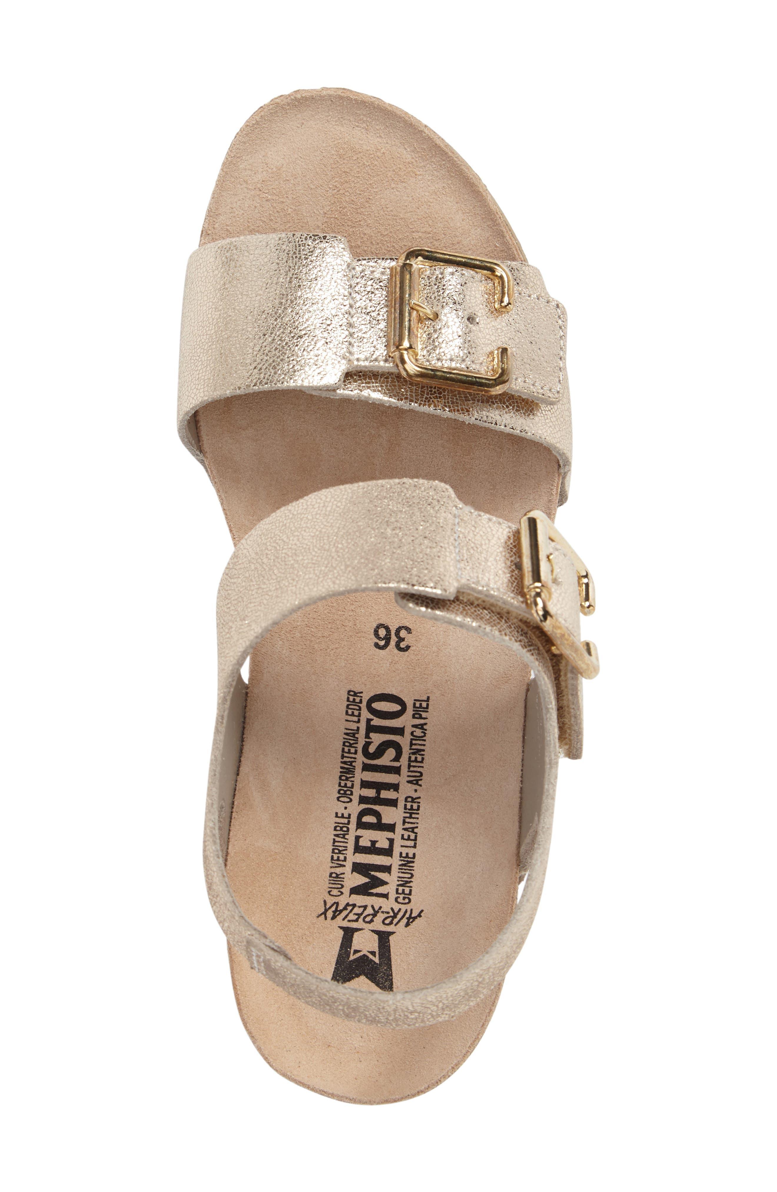 Alternate Image 5  - Mephisto Lissandra Platform Wedge Sandal (Women)