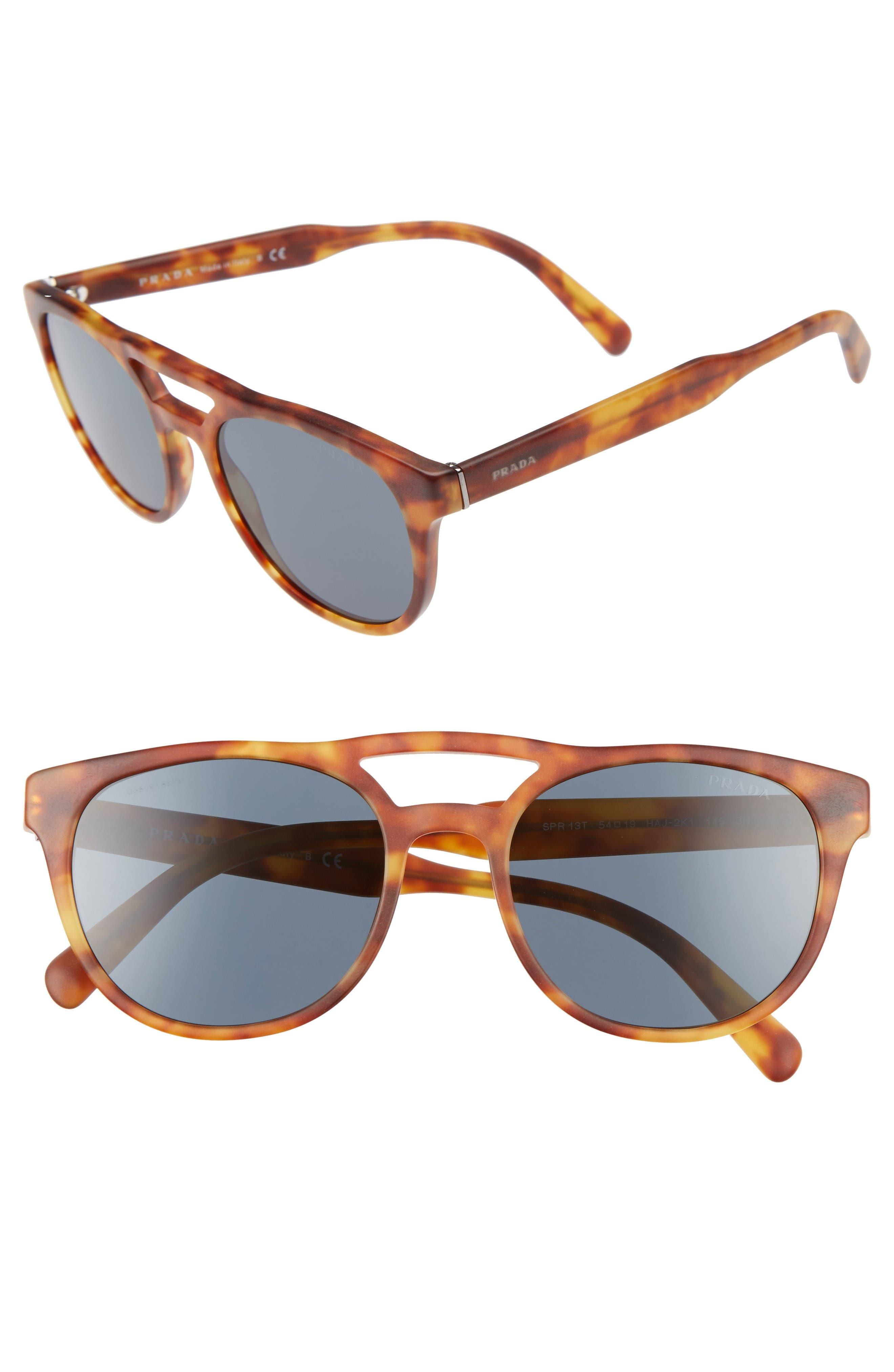 Prada 54mm Square Sunglasses