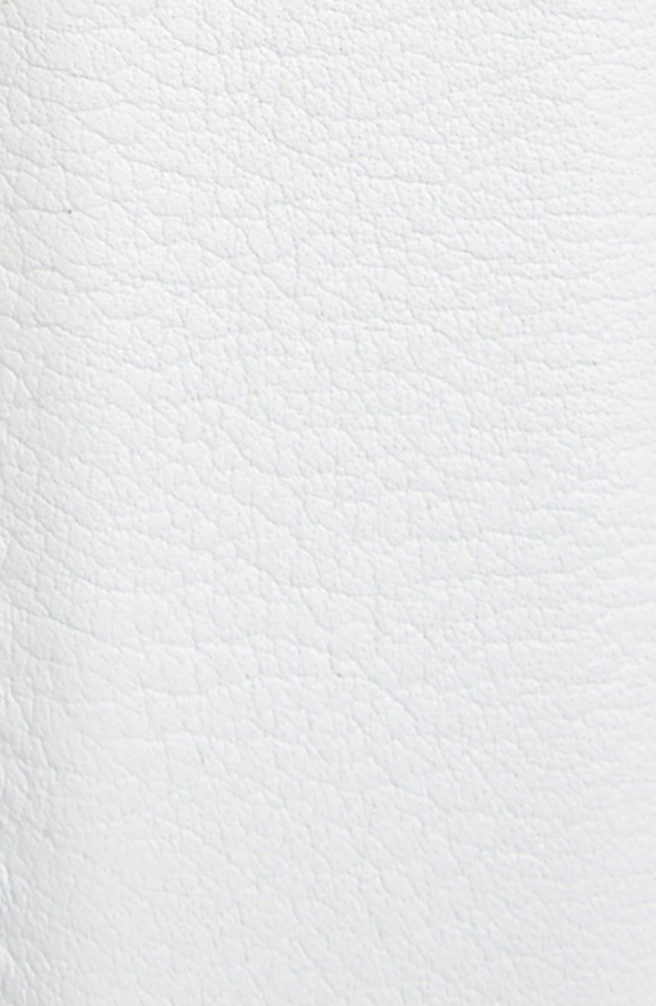 Rugo Leather Belt,                             Alternate thumbnail 2, color,                             White
