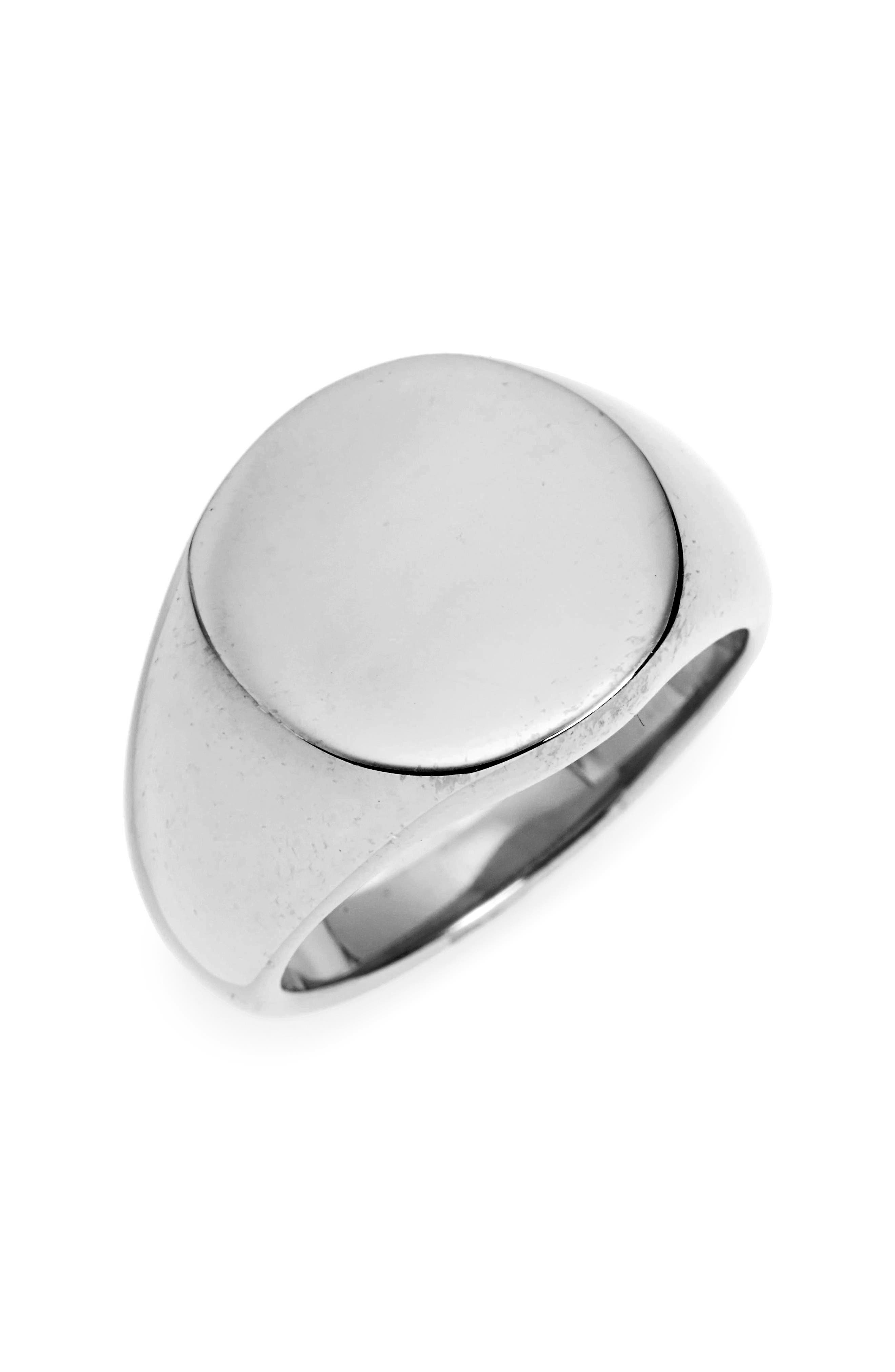 Rey Ring,                         Main,                         color, Antiqued Steel