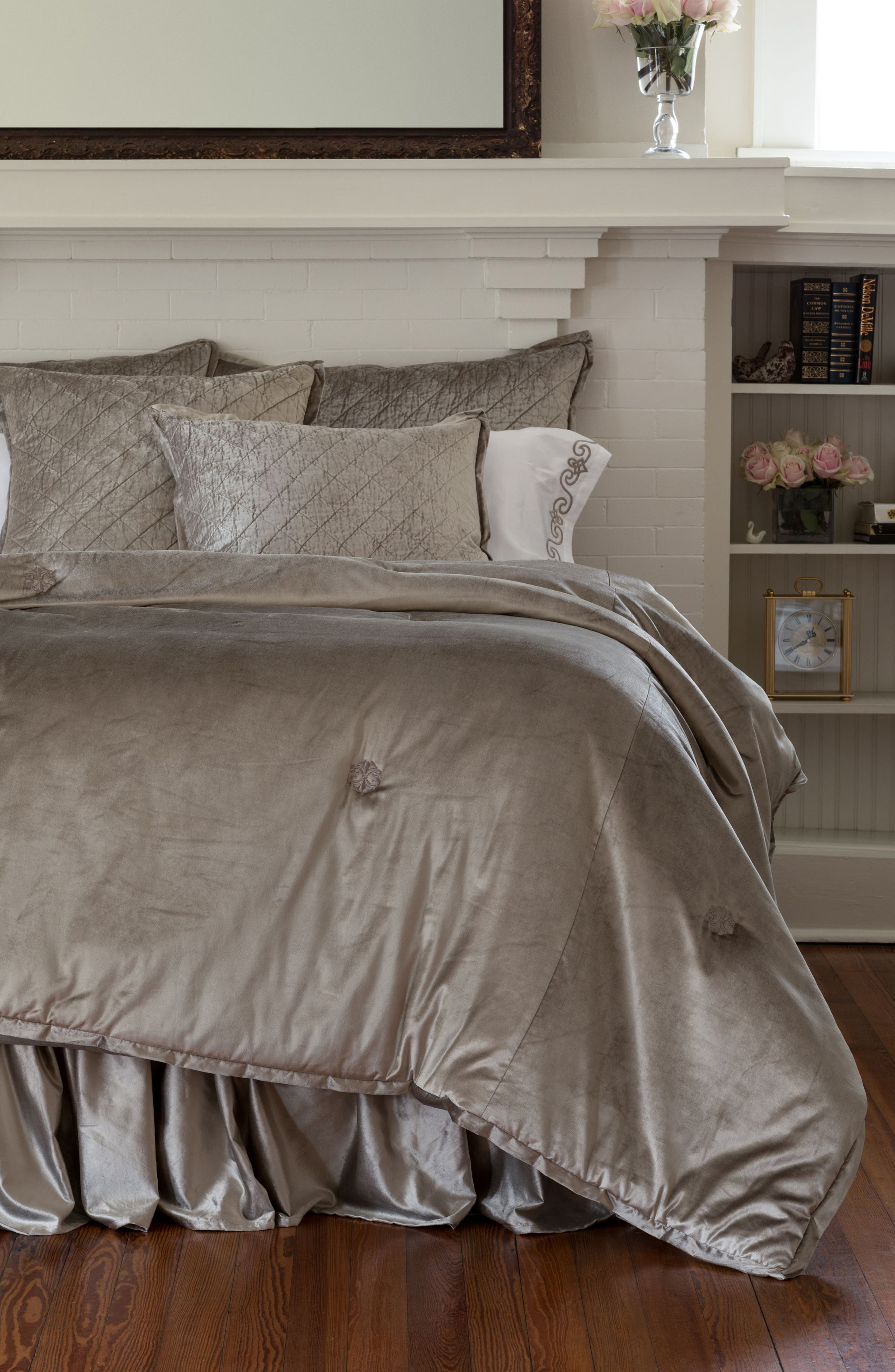 Chloe Comforter,                         Main,                         color, Fawn