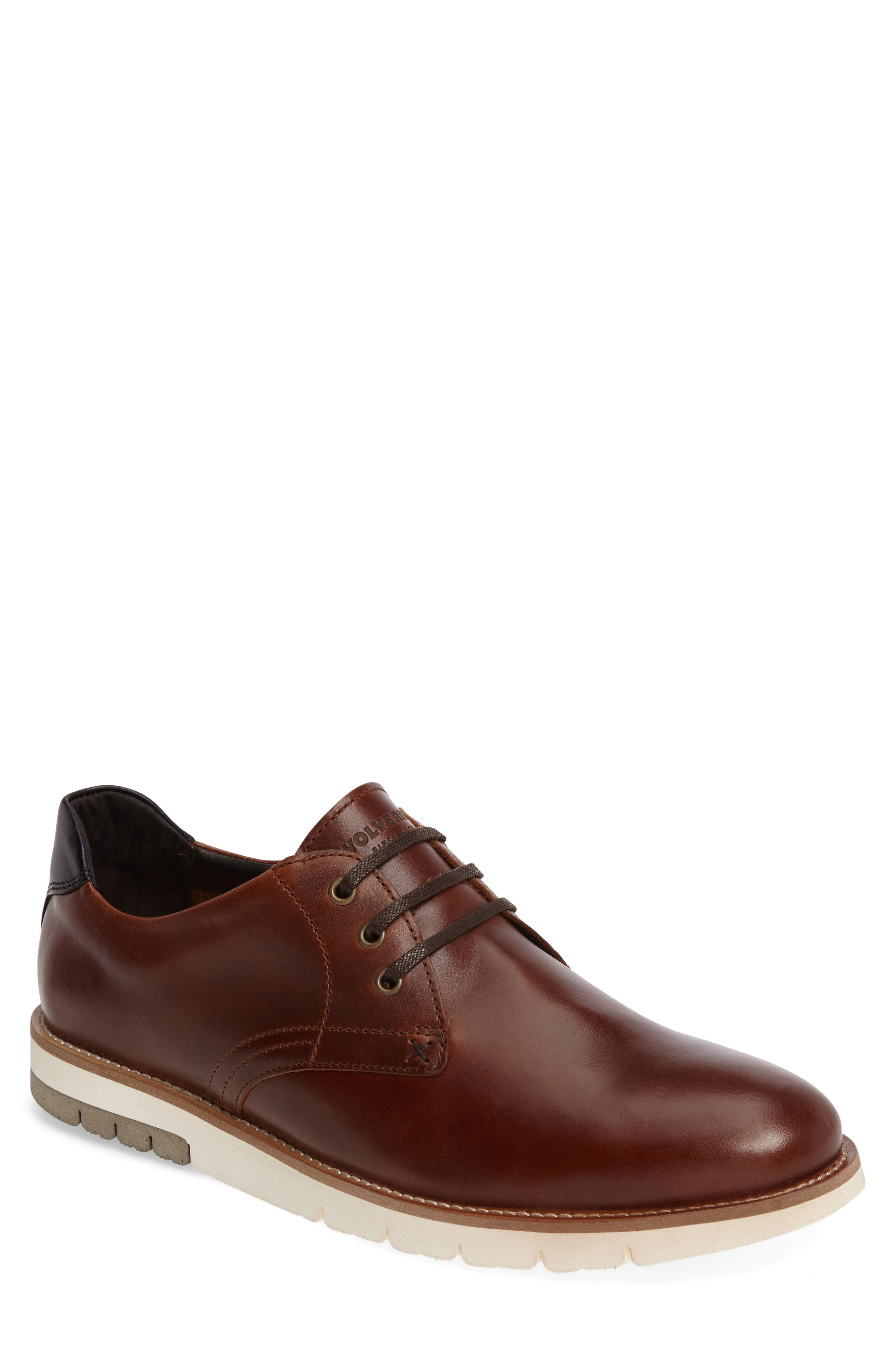 Alternate Image 1 Selected - Wolverine Reuben Plain Toe Derby (Men)