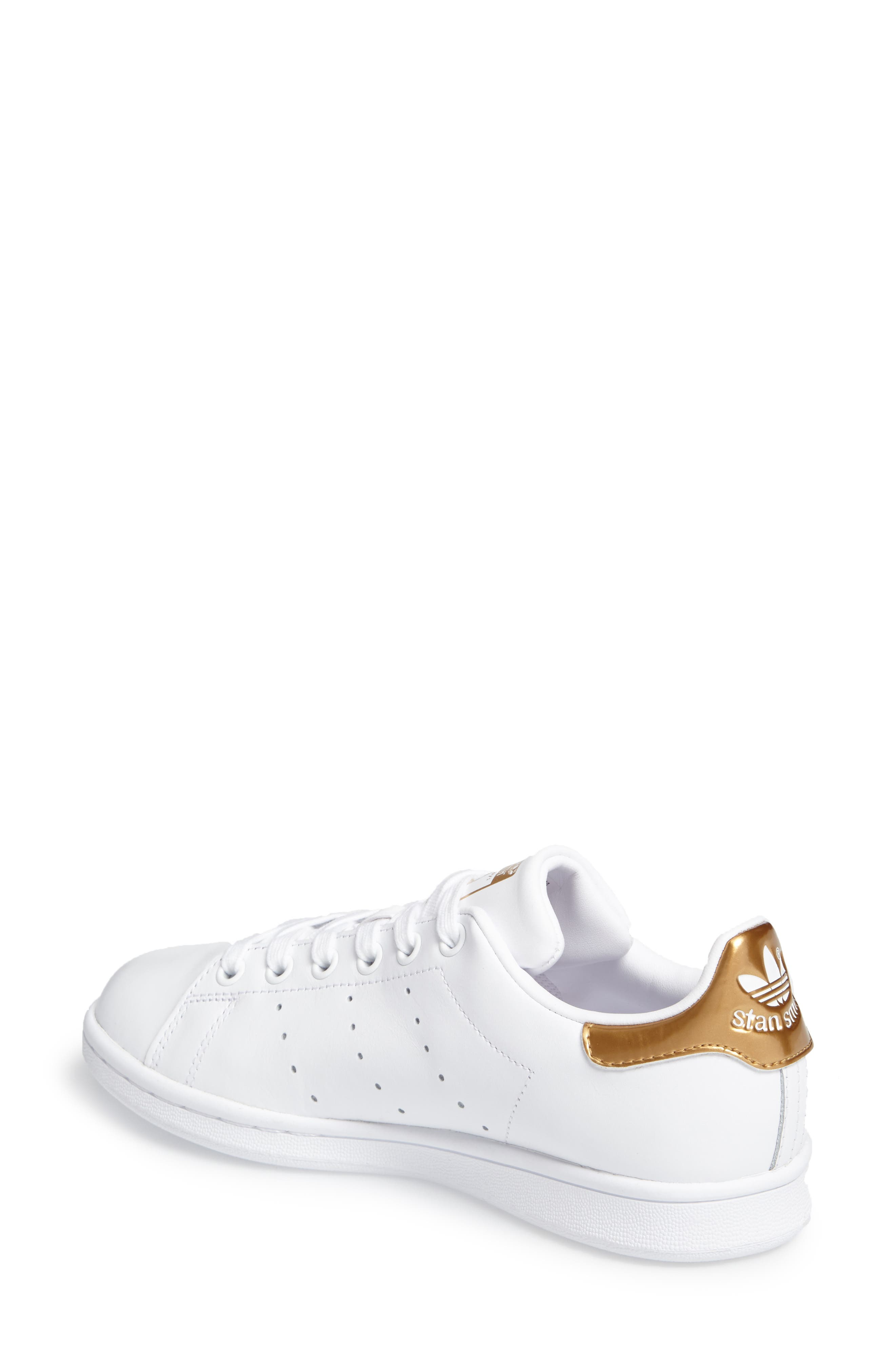 Alternate Image 2  - adidas 'Stan Smith' Sneaker (Women)