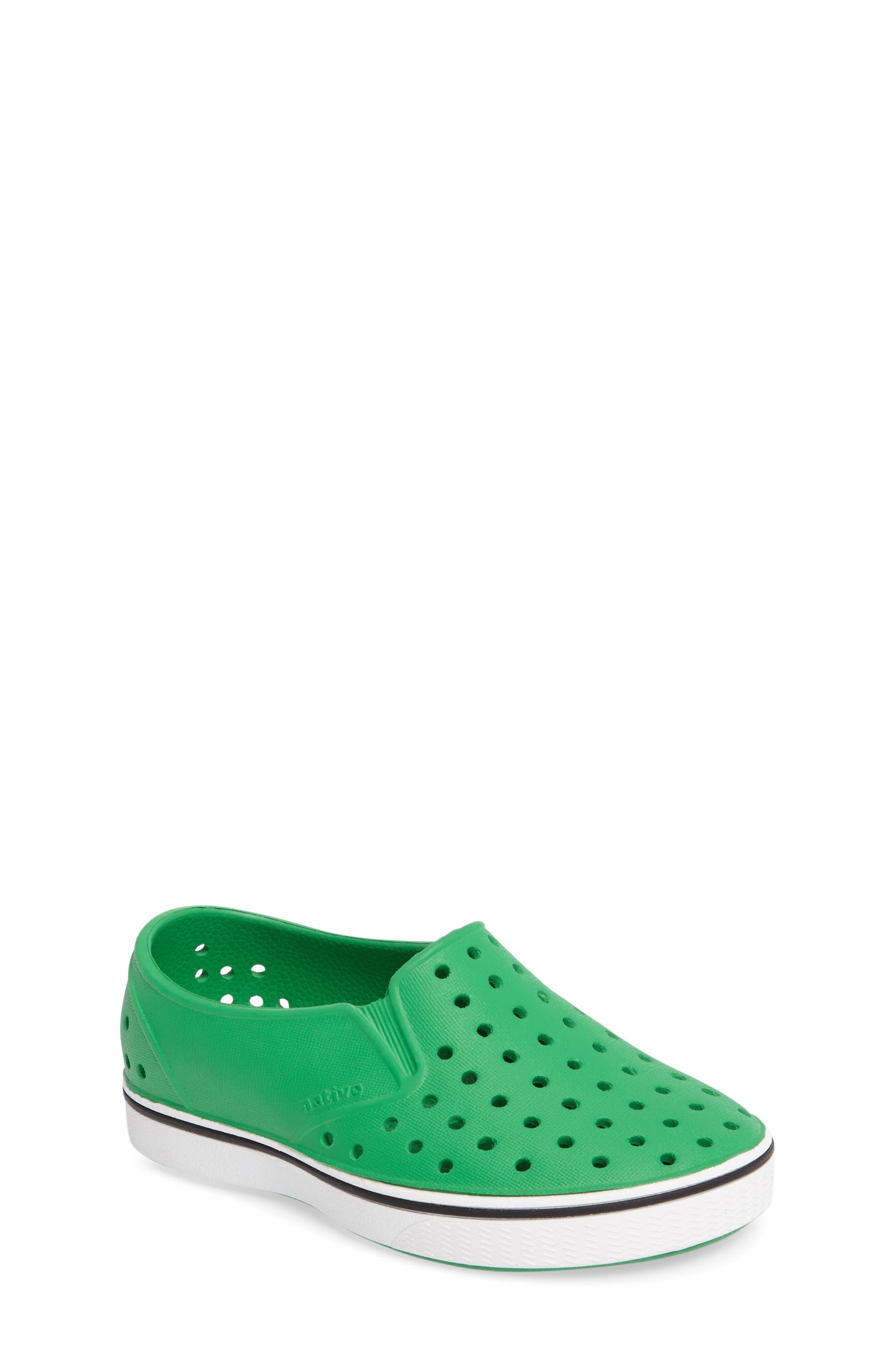Native Shoes Miles Slip-On Sneaker (Baby, Walker, Toddler & Little Kid)
