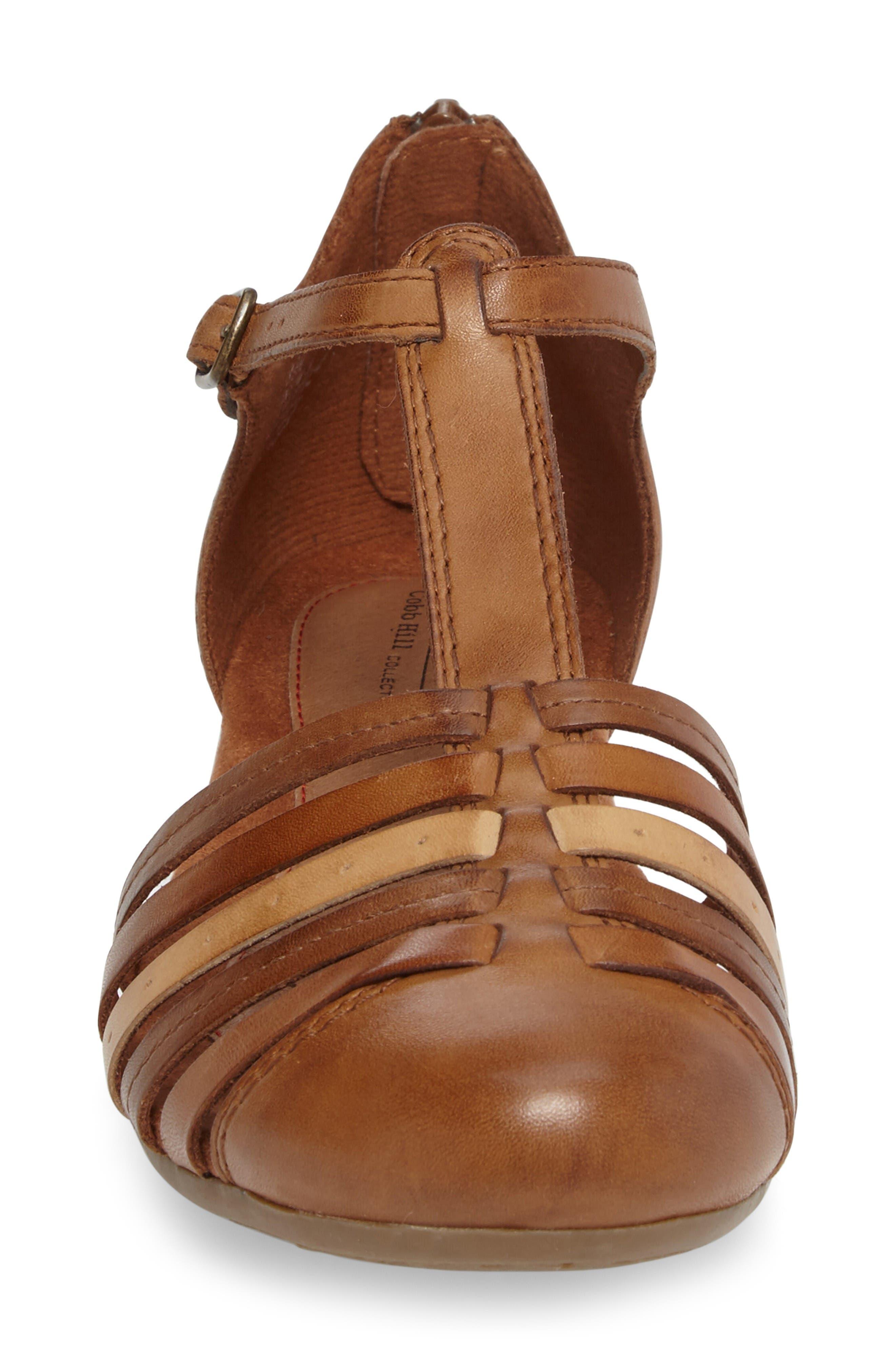 Alternate Image 4  - Rockport Cobb Hill Galway T-Strap Sandal (Women)