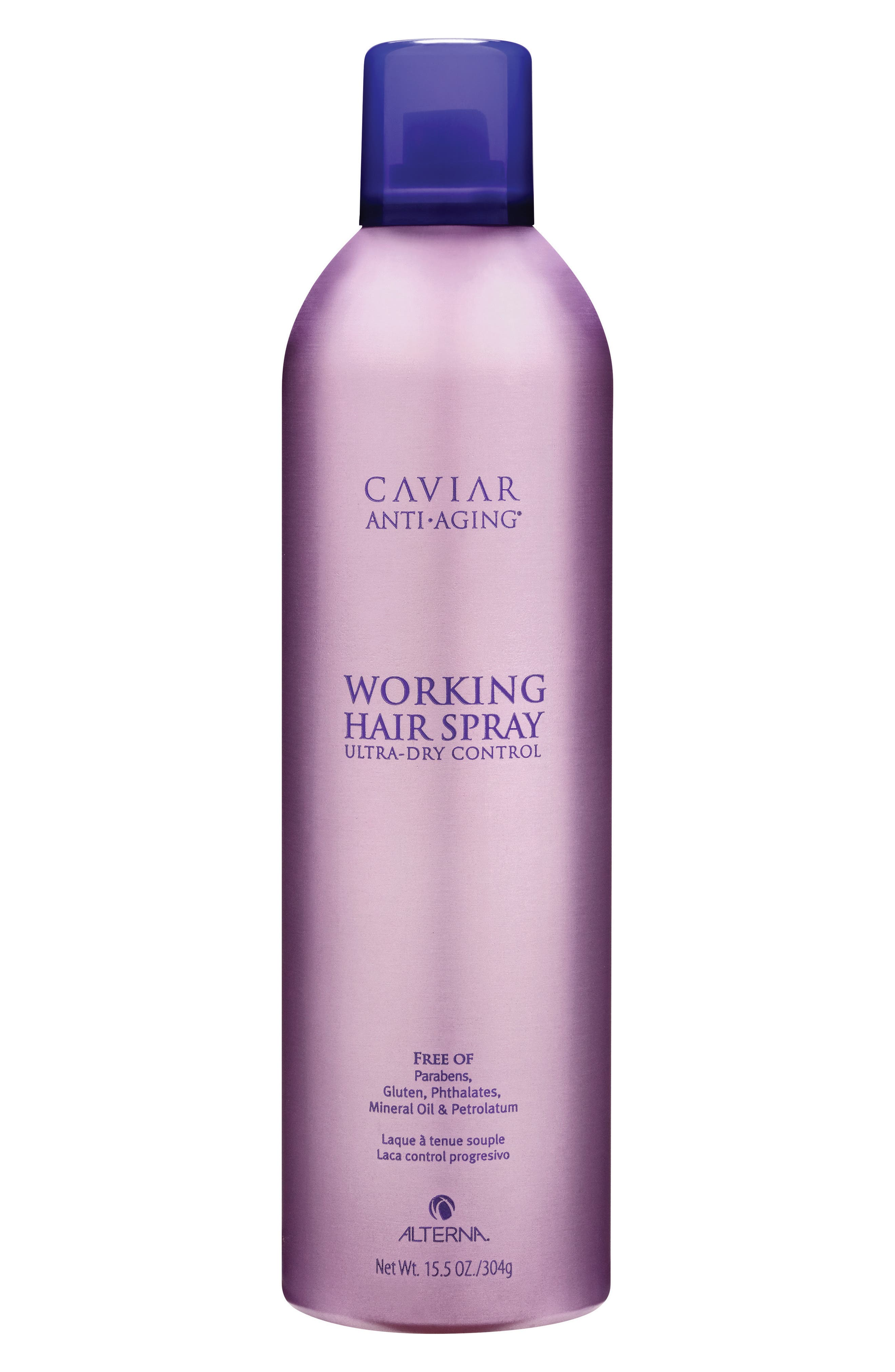 Caviar Anti-Aging Working Hair Spray,                             Alternate thumbnail 2, color,                             No Color