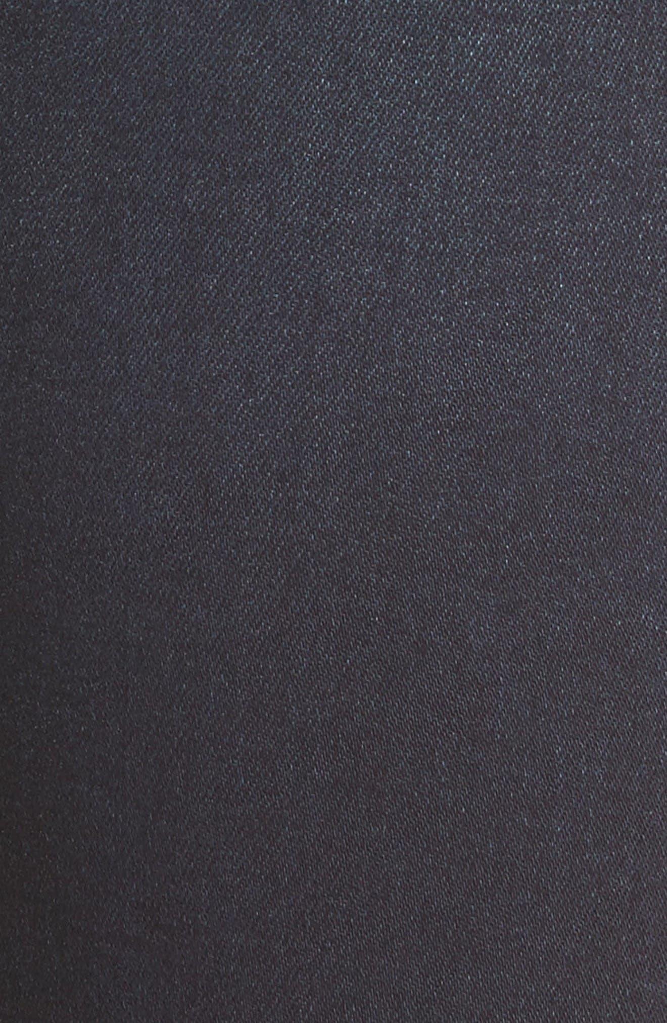 Natalie Stretch Bootleg Jeans,                             Alternate thumbnail 6, color,                             Immeasurable