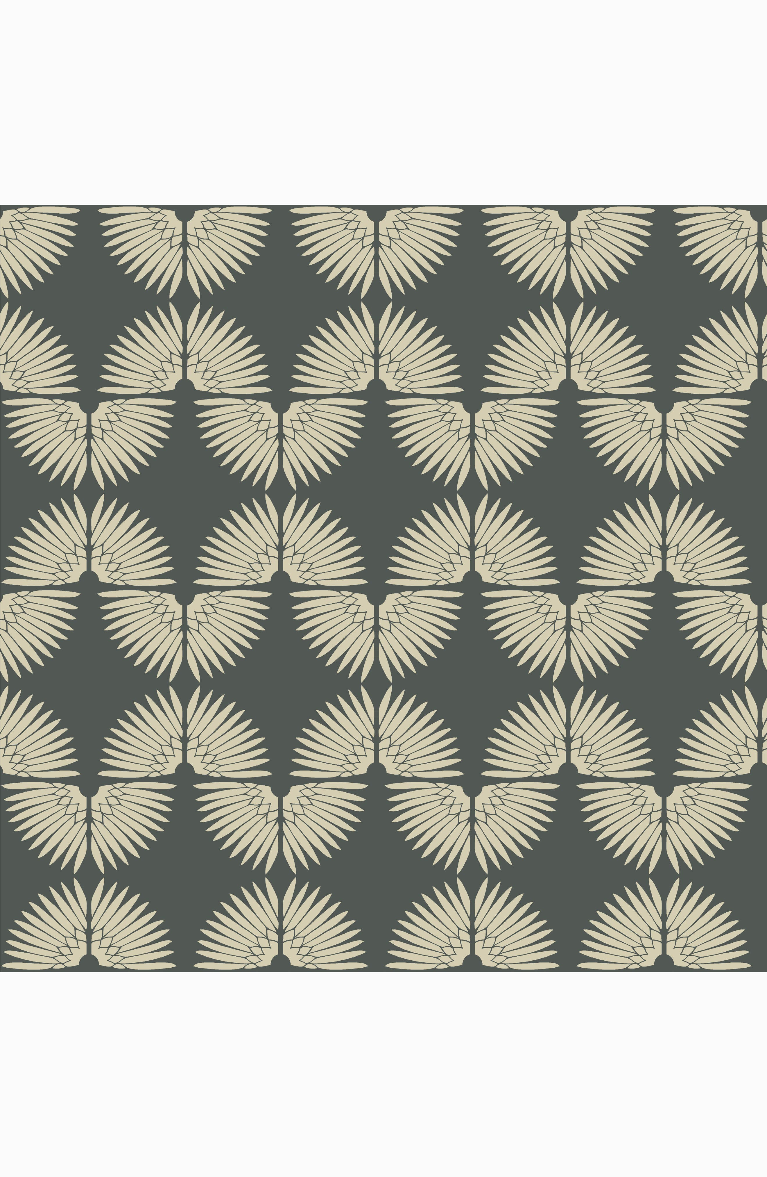 Urban Caterpillar Self-Adhesive Vinyl Wallpaper,                             Main thumbnail 1, color,                             Angel White