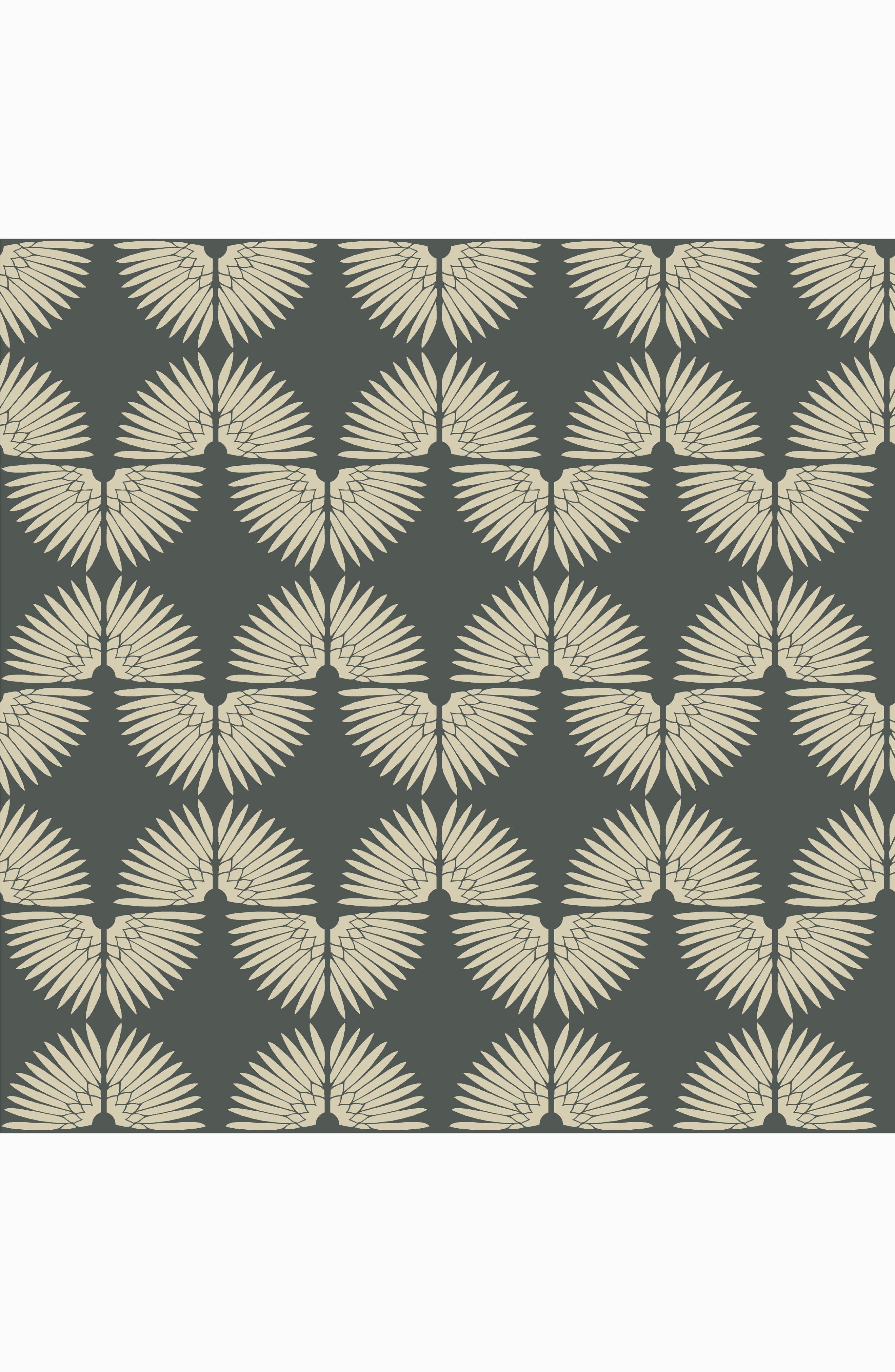 Urban Caterpillar Self-Adhesive Vinyl Wallpaper,                         Main,                         color, Angel White