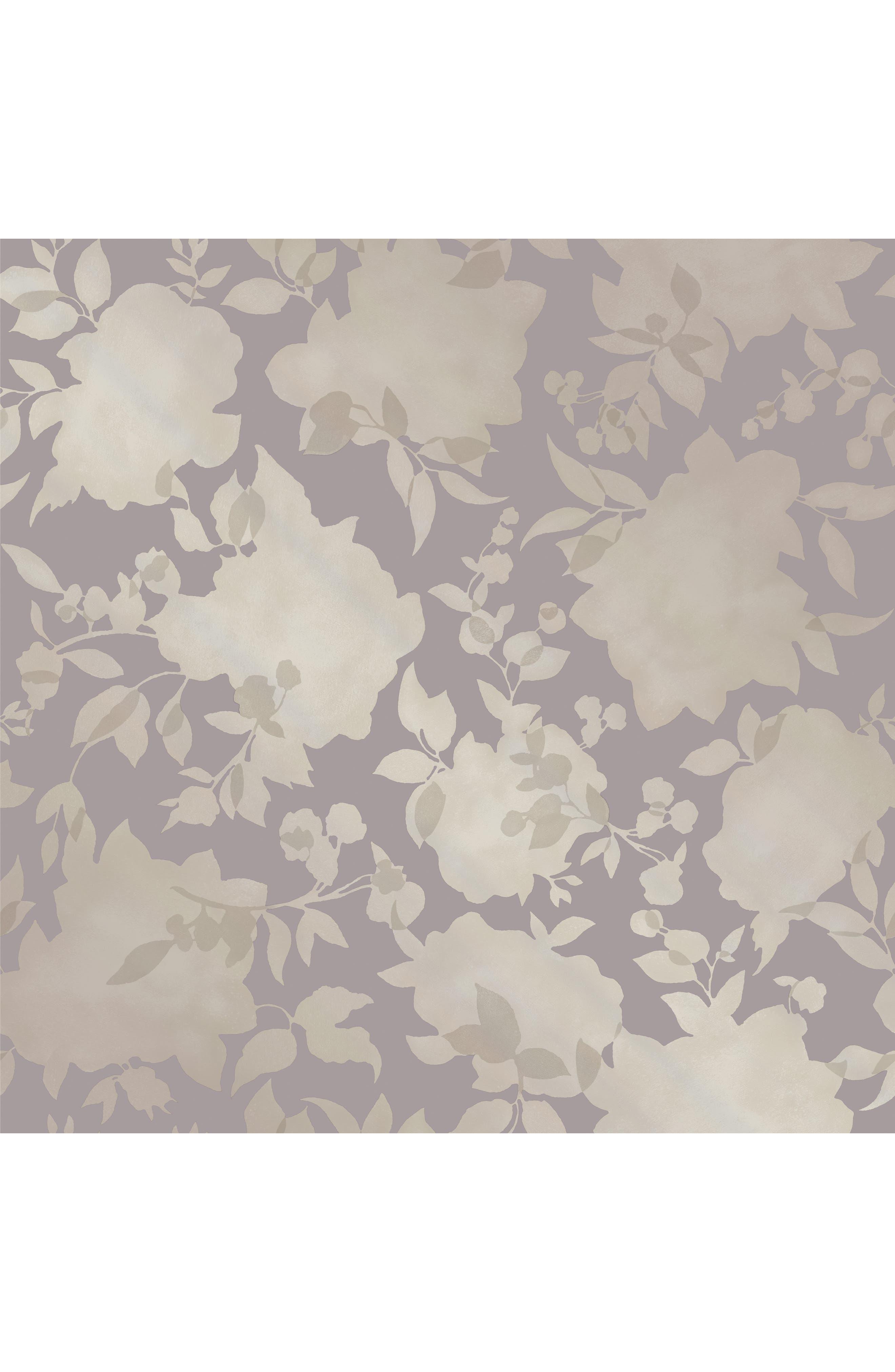 Tempaper Silhouette Self-Adhesive Vinyl Wallpaper