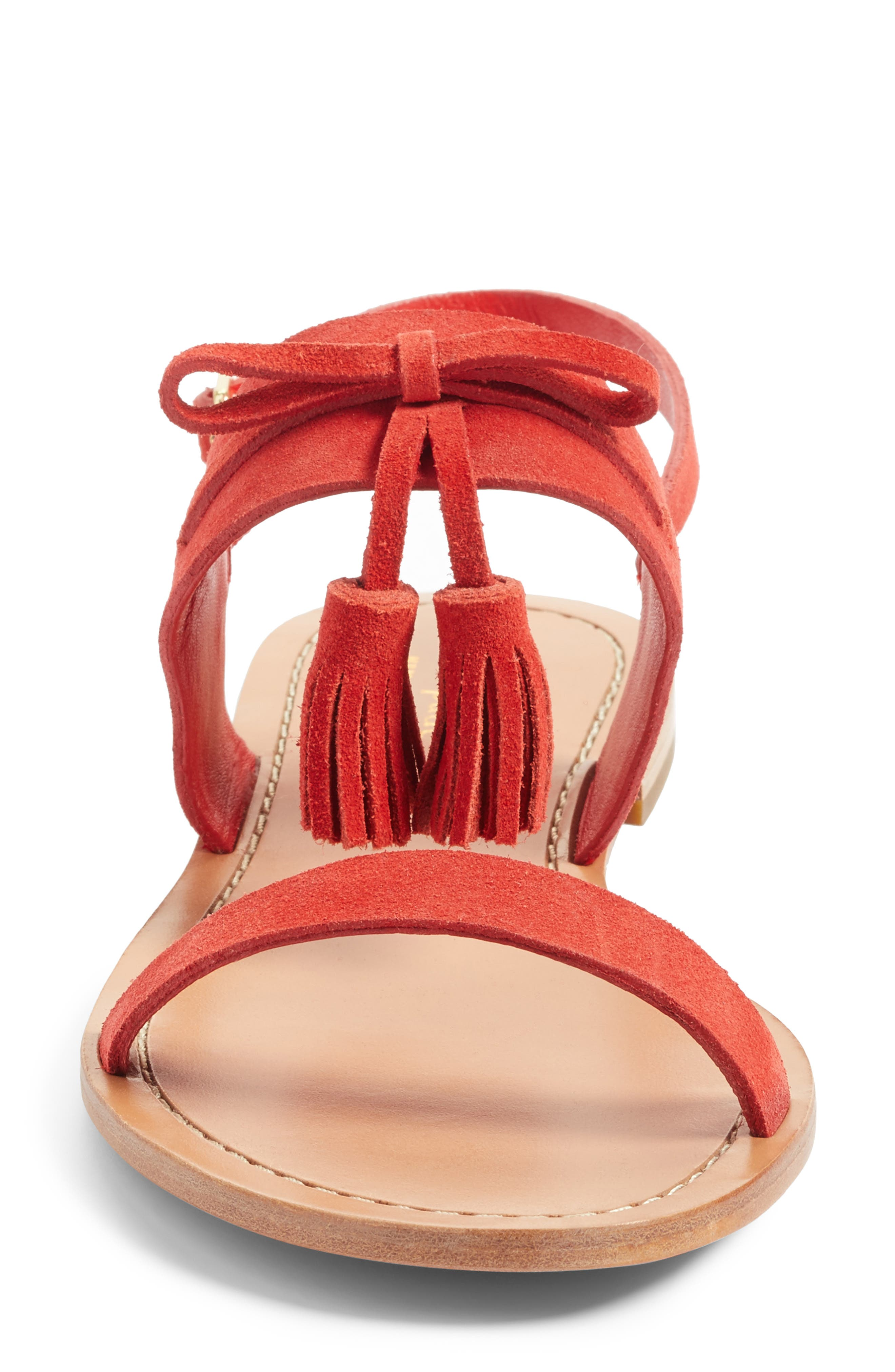 Alternate Image 4  - kate spade new york carlita tassel sandal (Women)