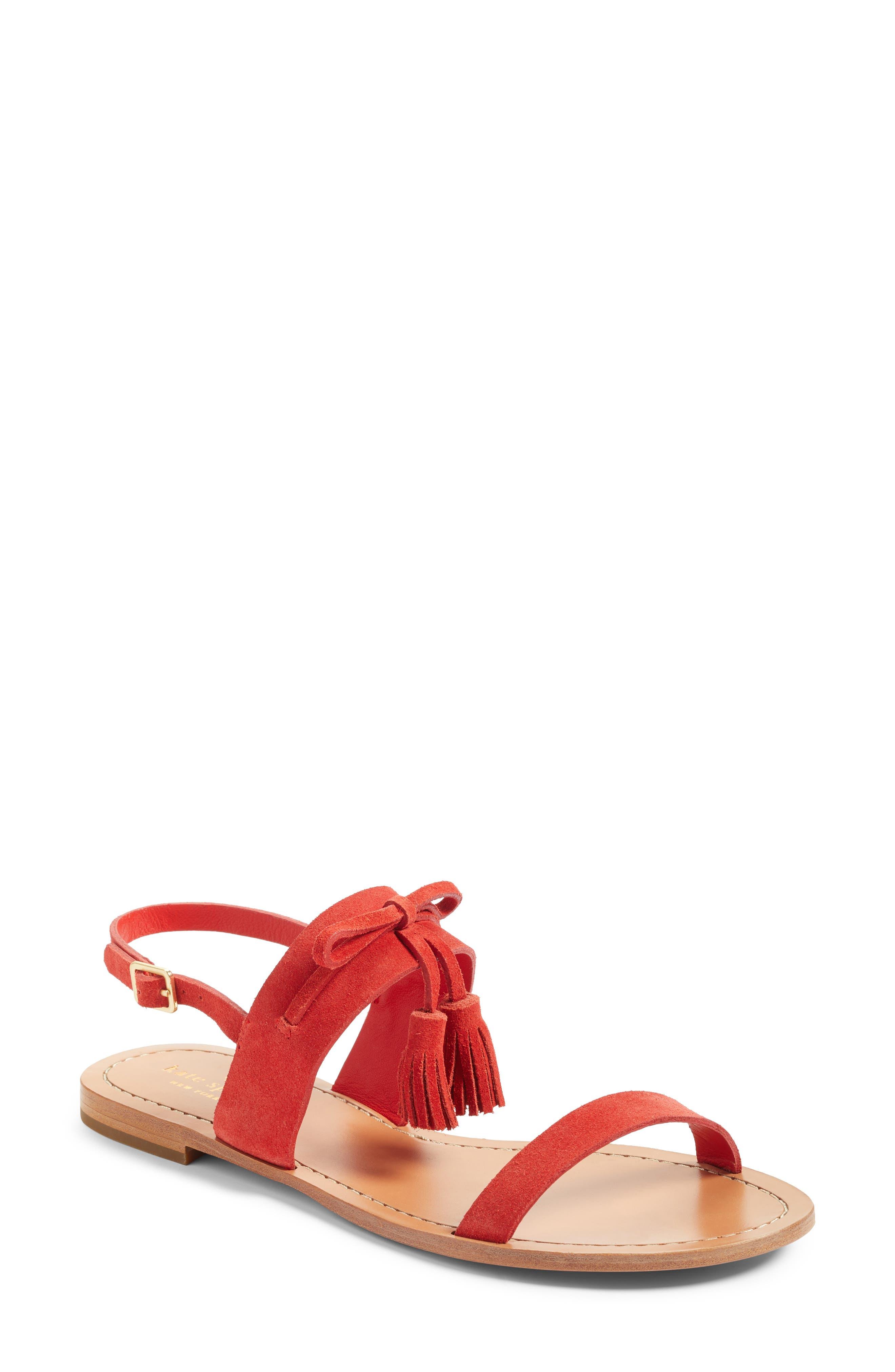 Main Image - kate spade new york carlita tassel sandal (Women)