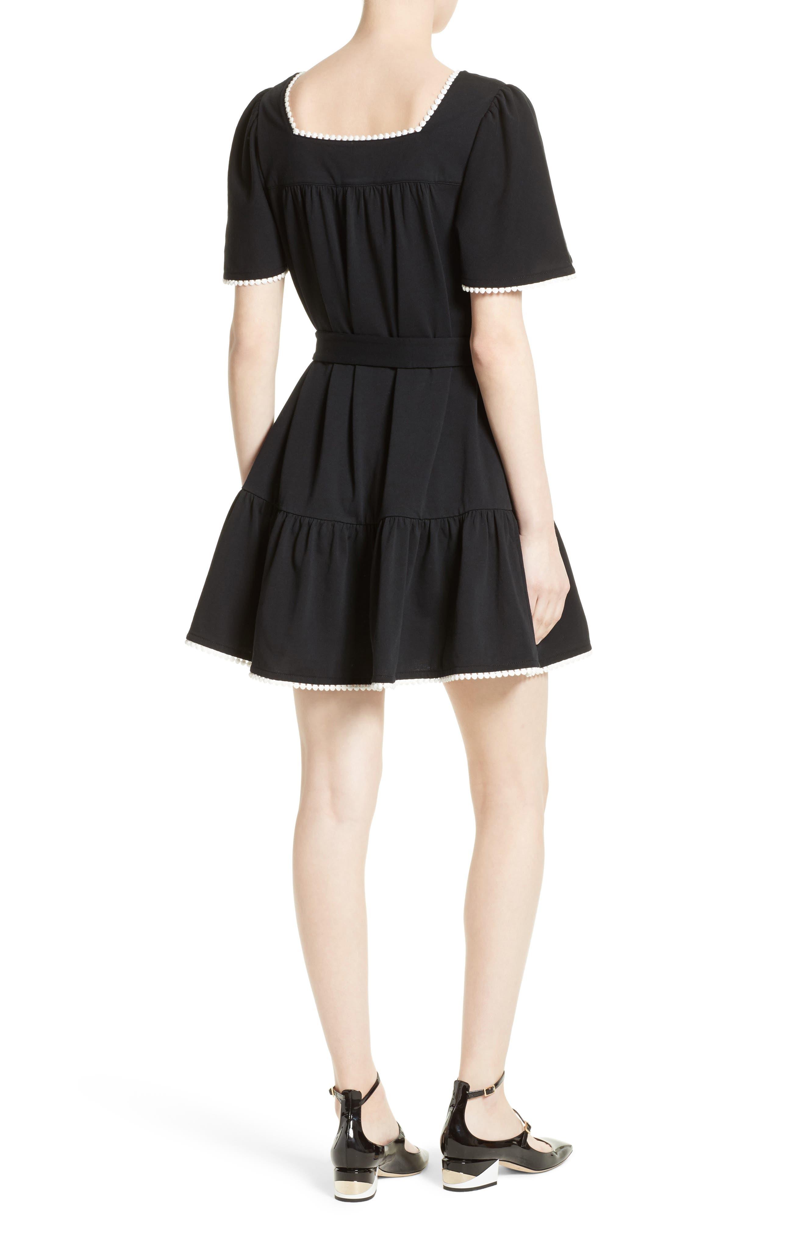 Alternate Image 2  - kate spade new york embroidered a-line dress