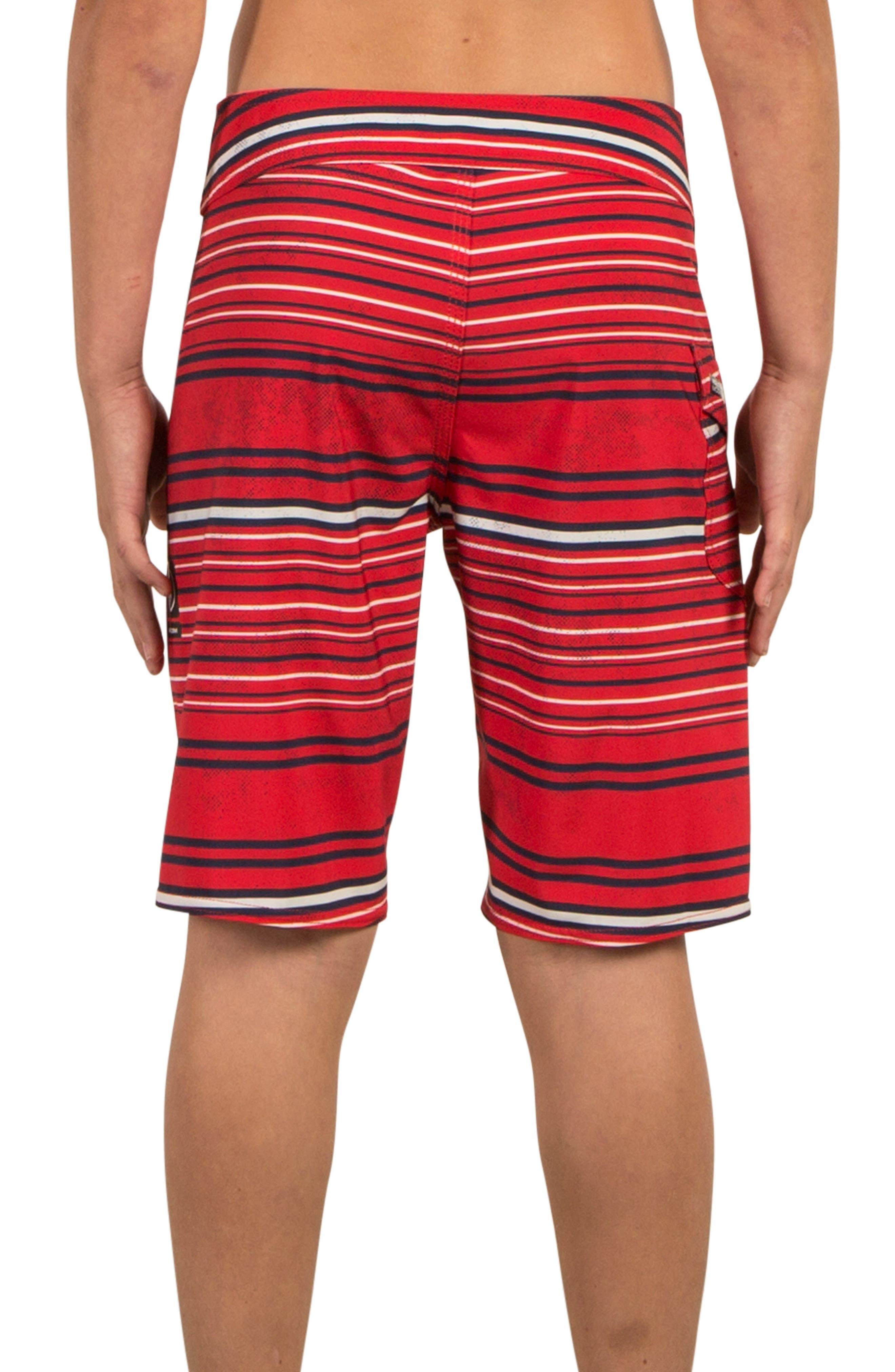 Alternate Image 2  - Volcom Magnetic Liney Board Shorts (Big Boys)