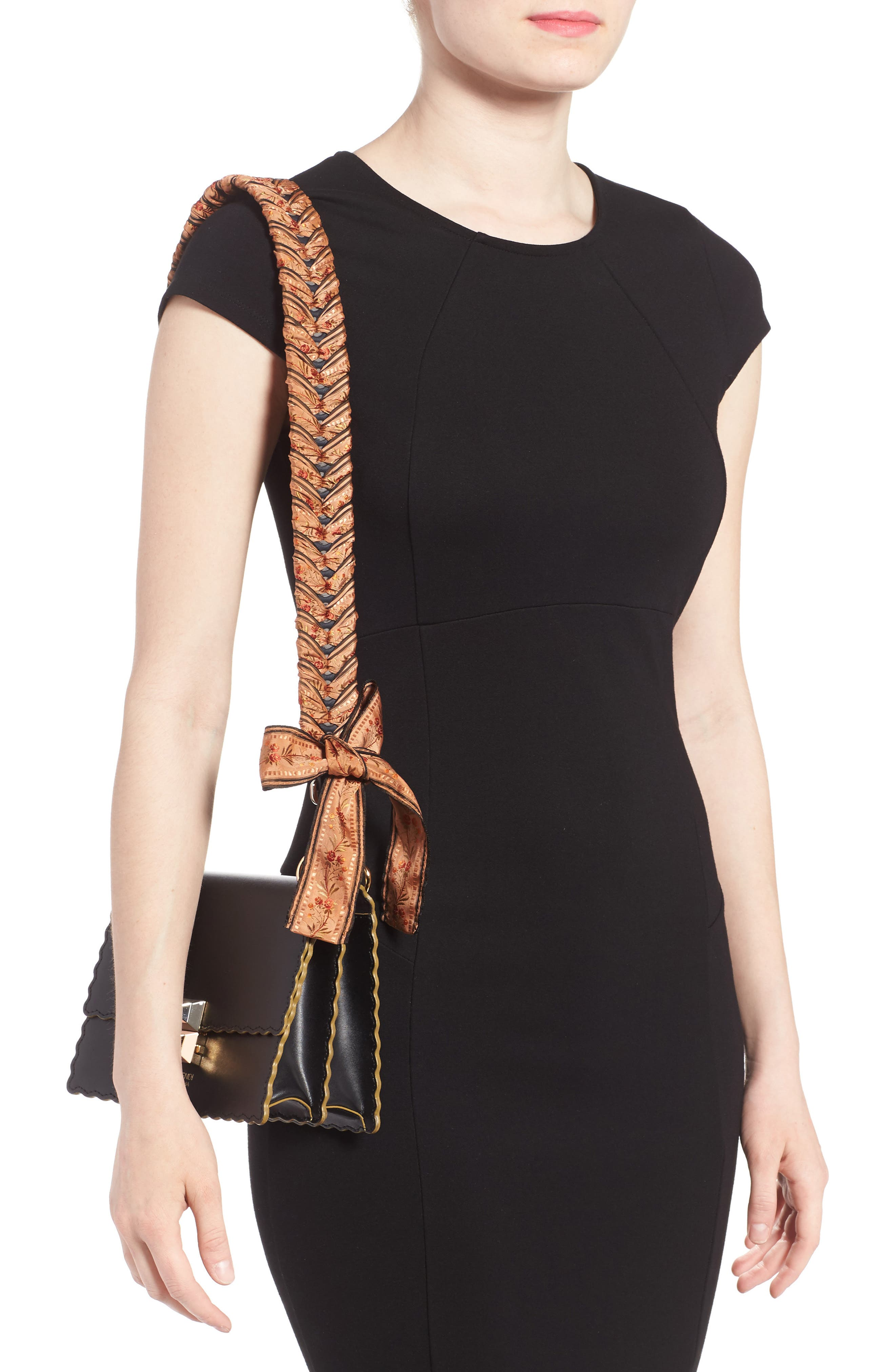 Alternate Image 2  - Fendi Floral Ribbon Guitar Bag Strap