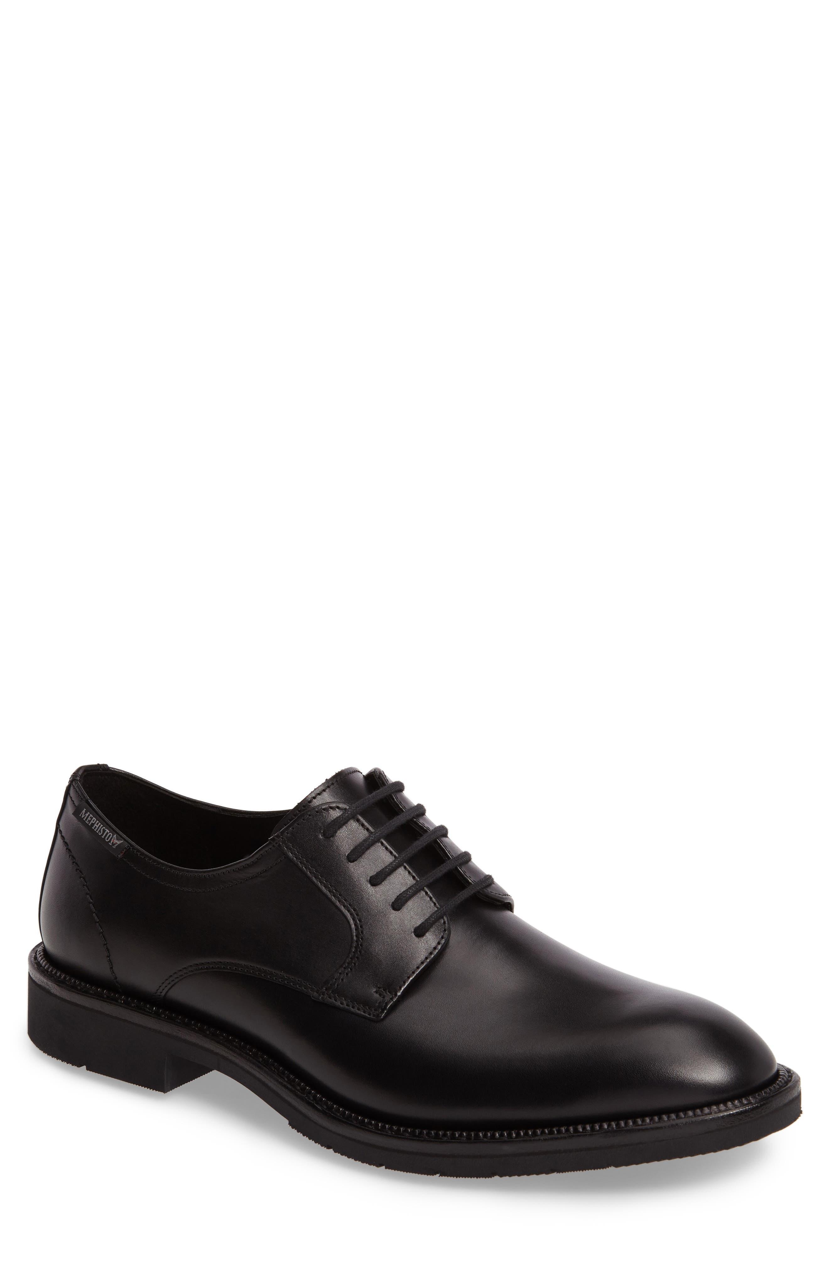 Taylor Plain Toe Derby,                         Main,                         color, Black