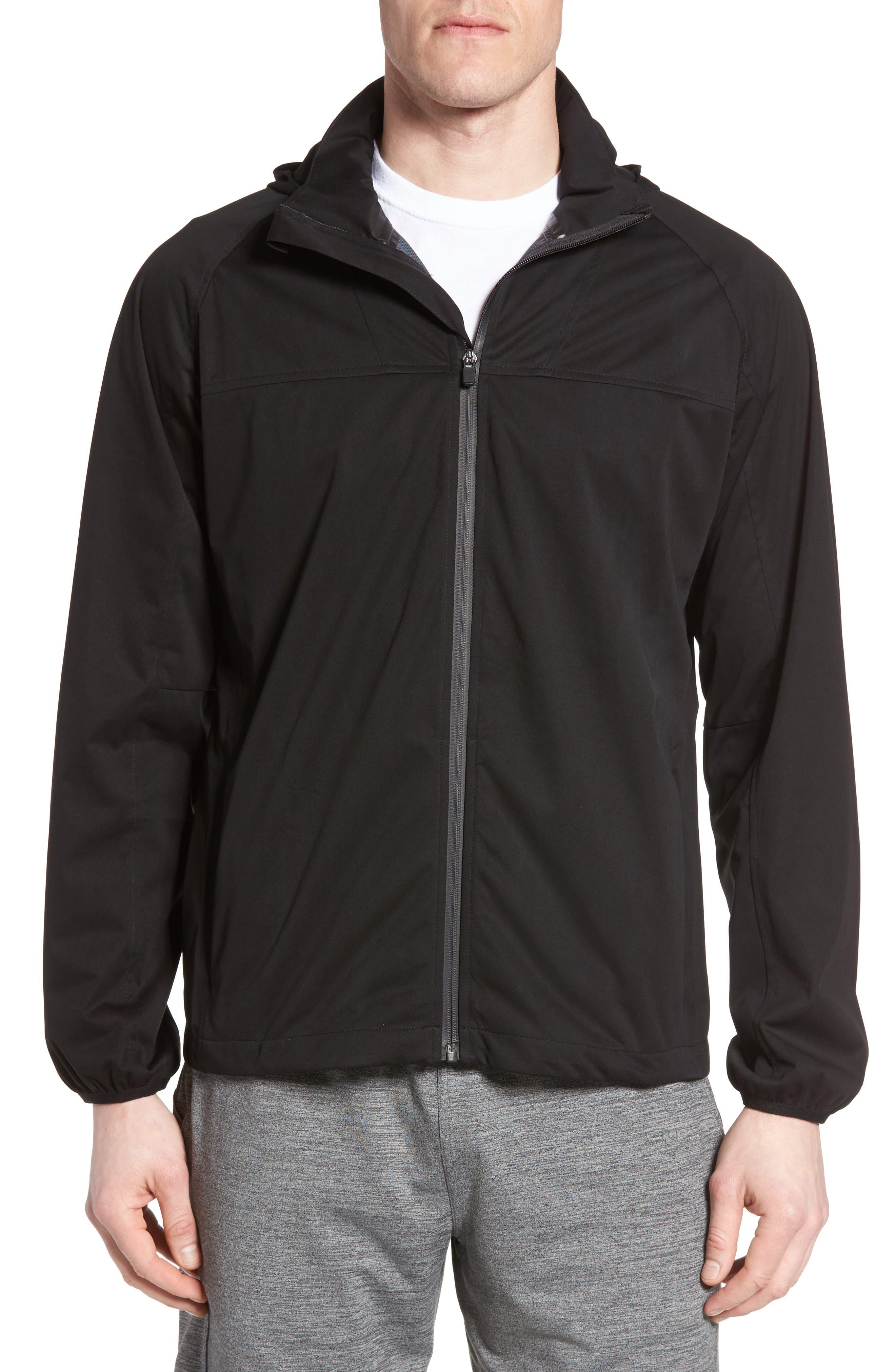 Alternate Image 1 Selected - Zella Minimum Waterproof Jacket