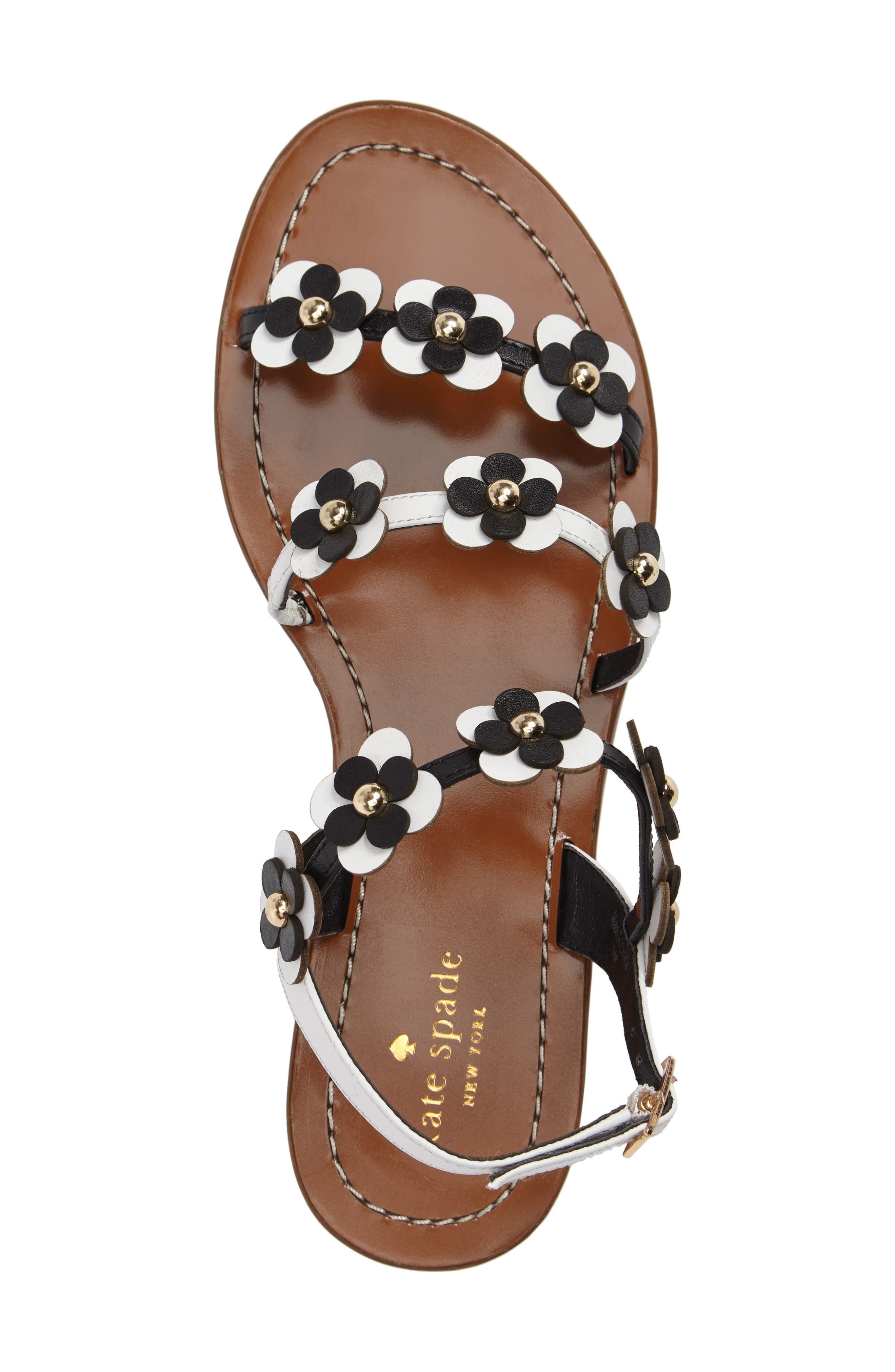 Alternate Image 5  - kate spade new york colorado flowered sandal (Women)