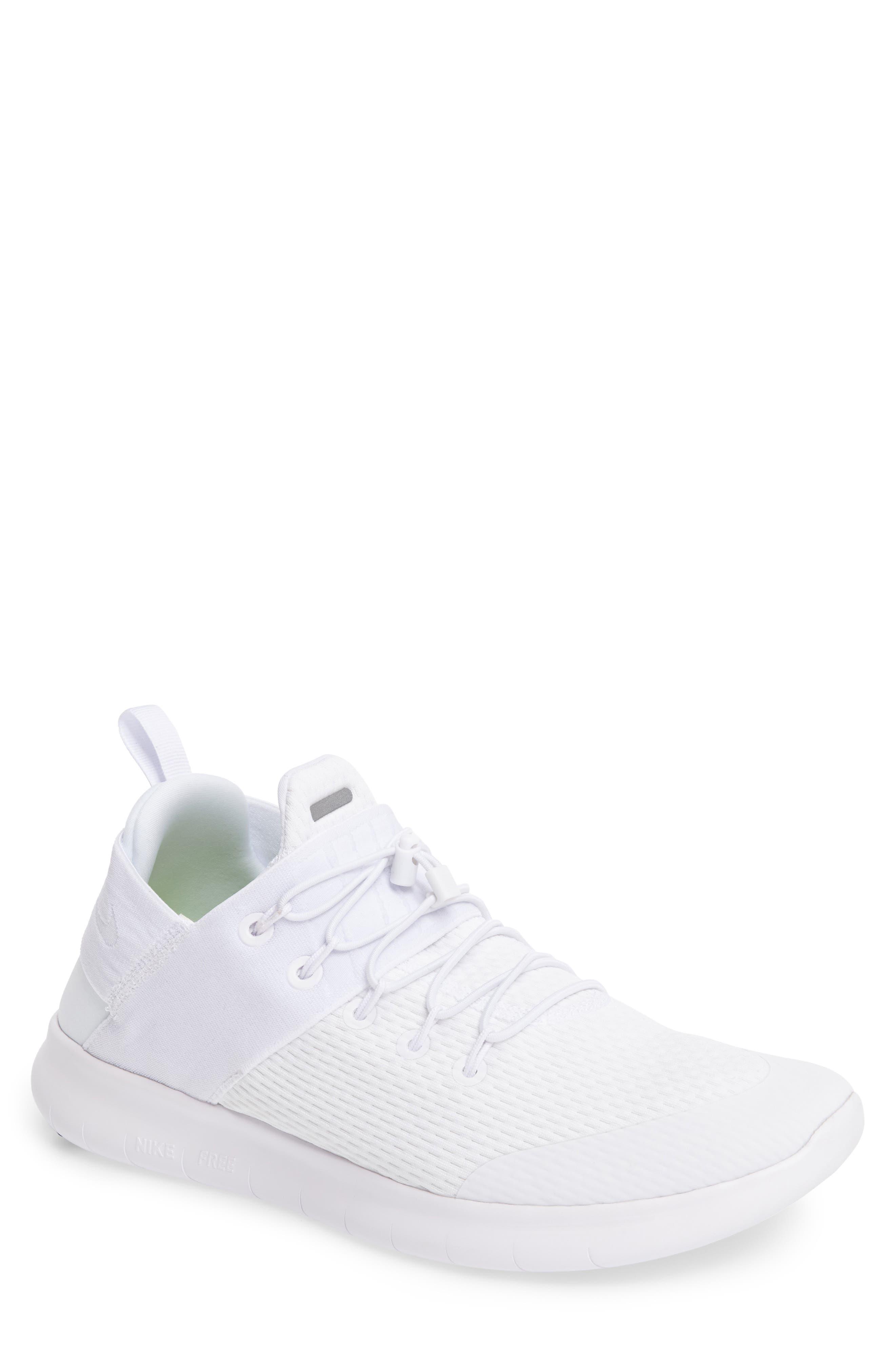Free RN CMTR 2 Running Shoe,                             Main thumbnail 1, color,                             White/ White/ Platinum/ Grey