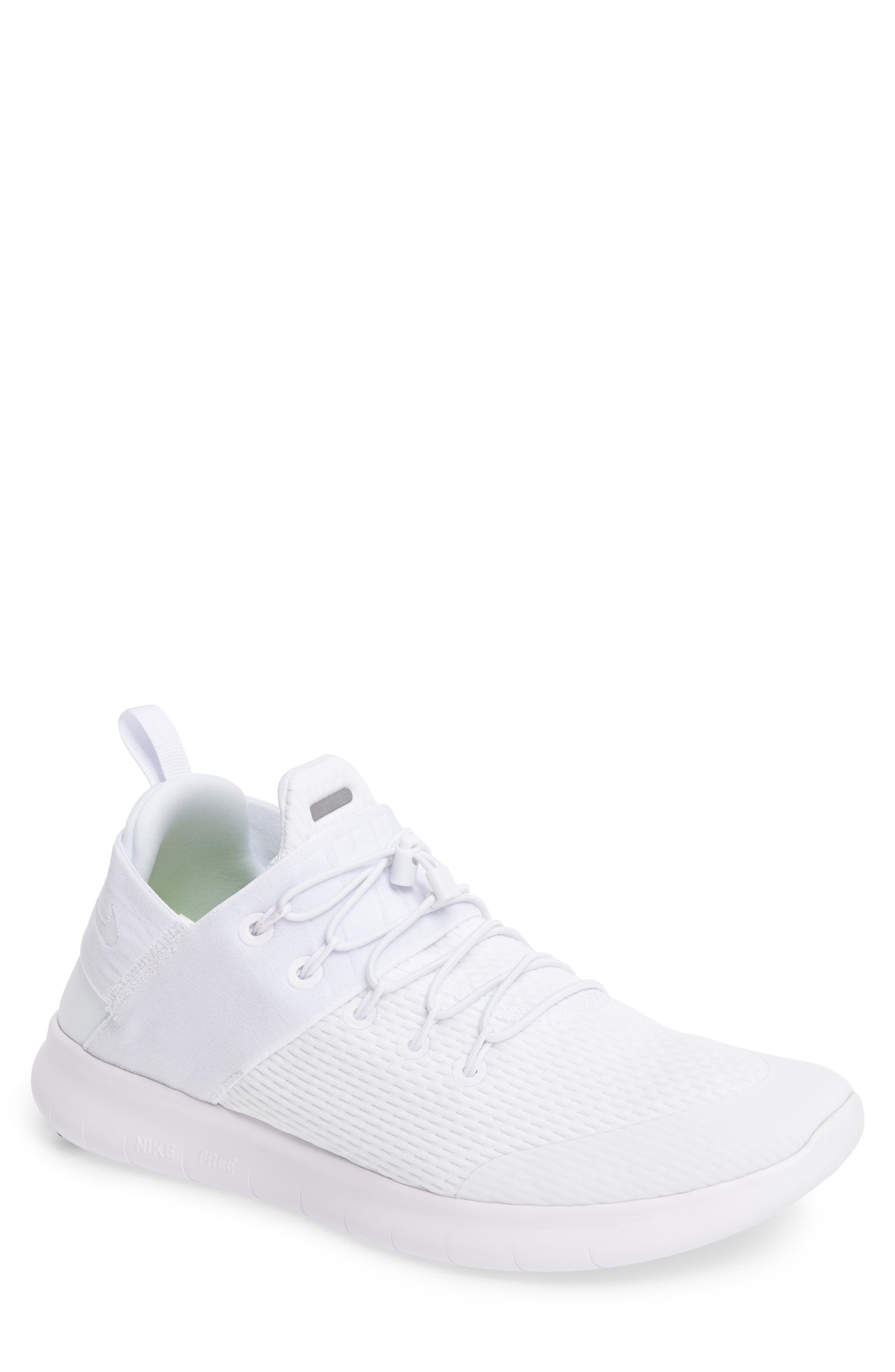 Free RN CMTR 2 Running Shoe,                         Main,                         color, White/ White/ Platinum/ Grey
