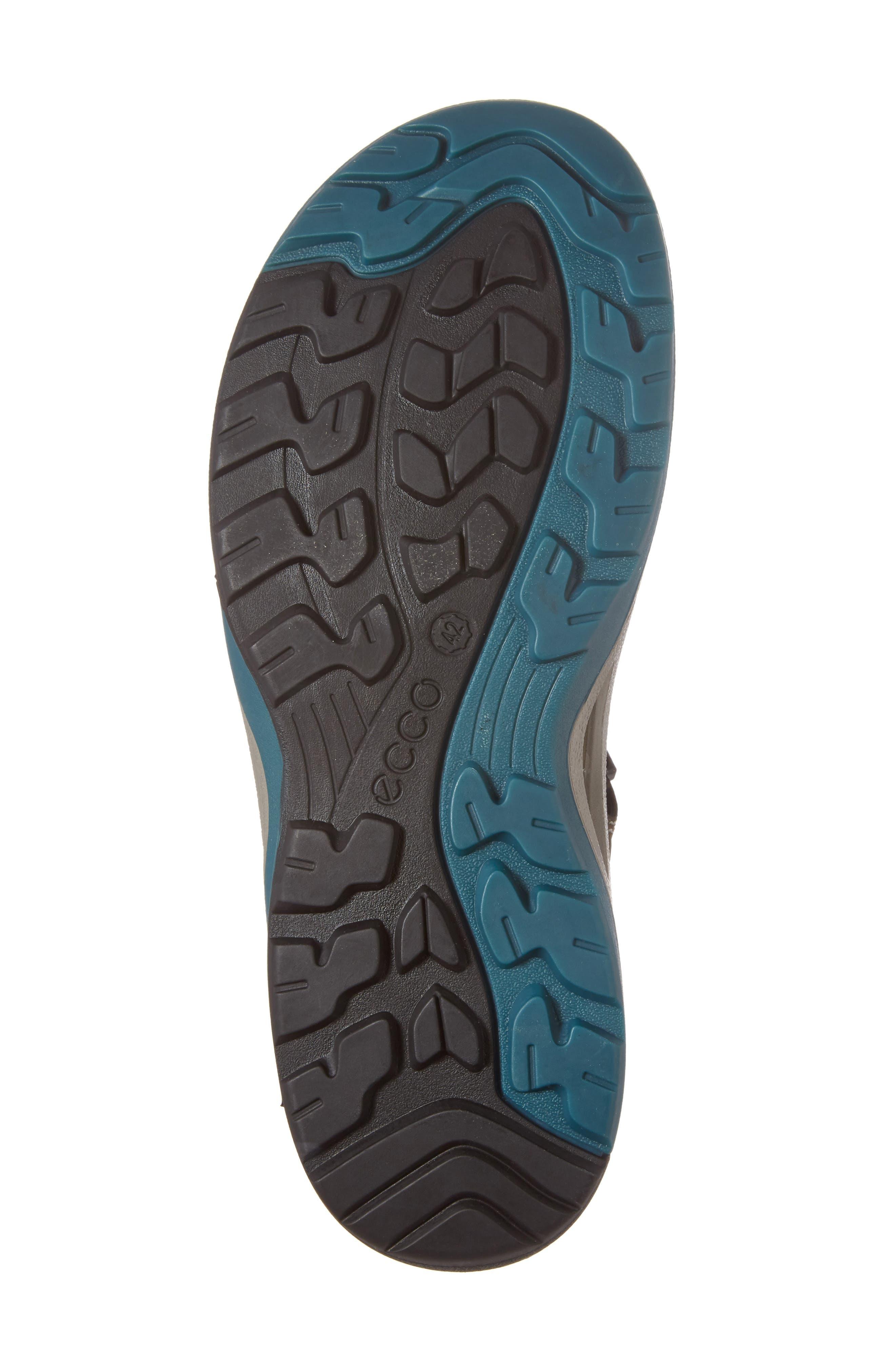 'BIOM Delta Offroad' Sandal,                             Alternate thumbnail 6, color,                             Tarmac/ Black