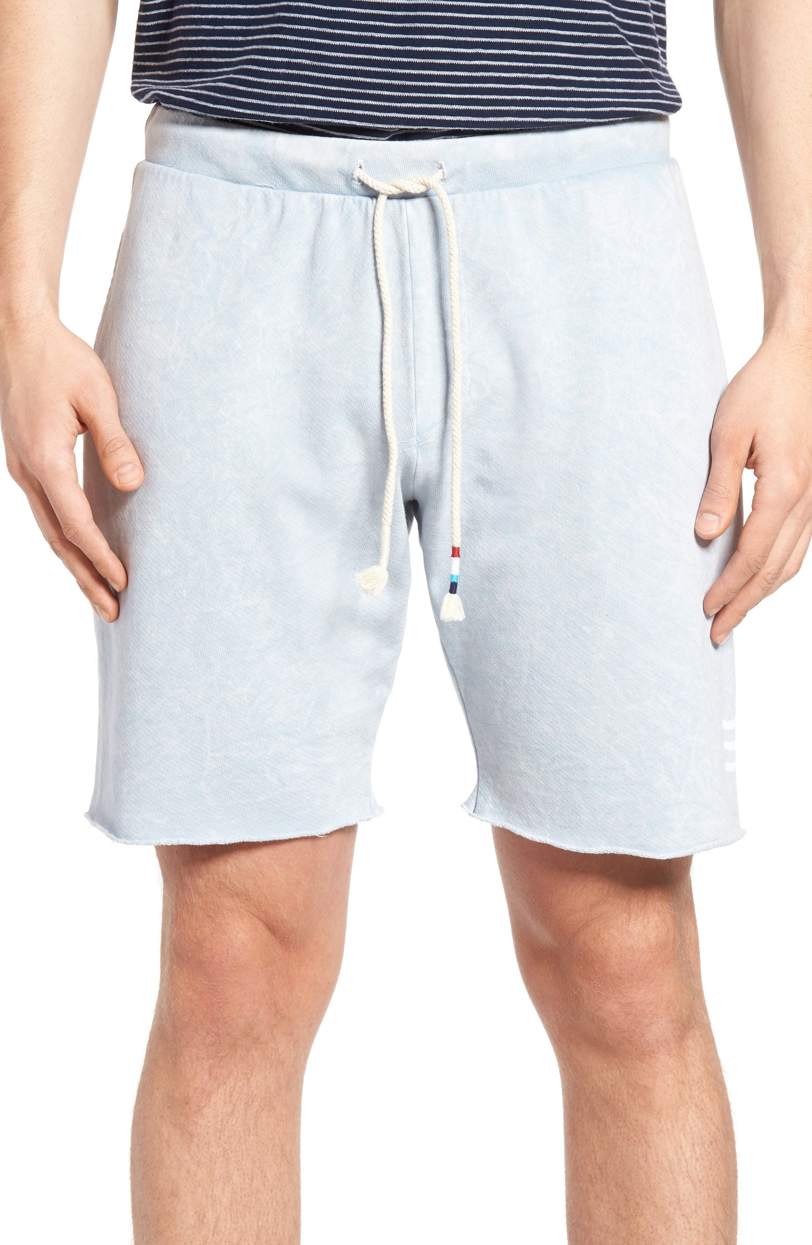 Sol Angeles Essential Raw Hem Knit Shorts