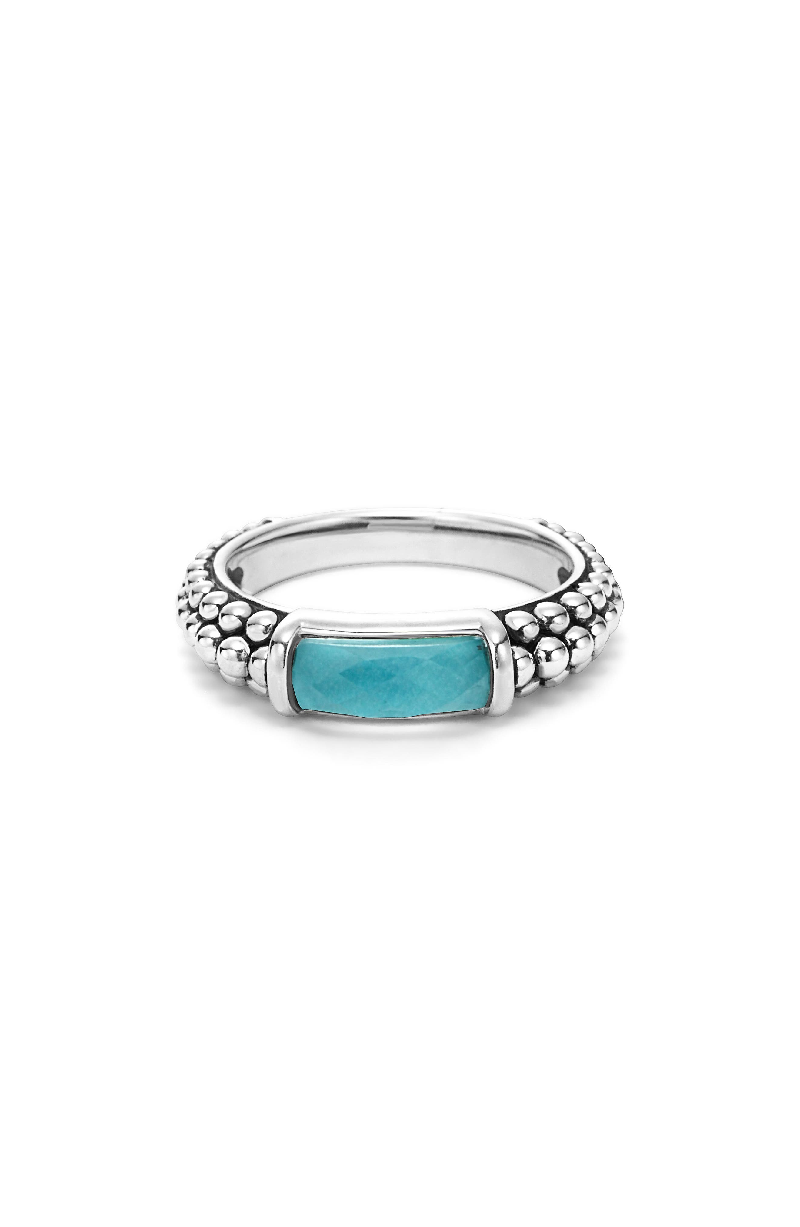 Alternate Image 2  - LAGOS 'Maya' Stackable Caviar Ring