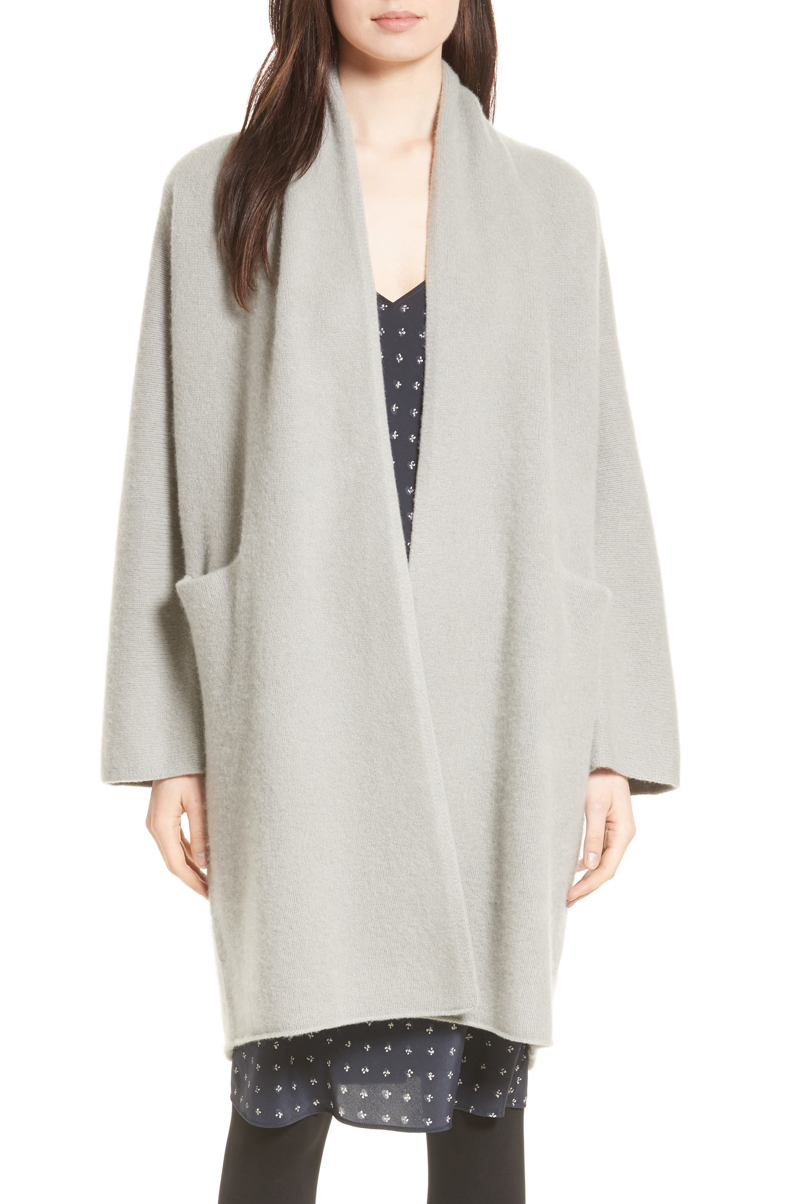 Alternate Image 1 Selected - Vince Cashmere Long Cardigan